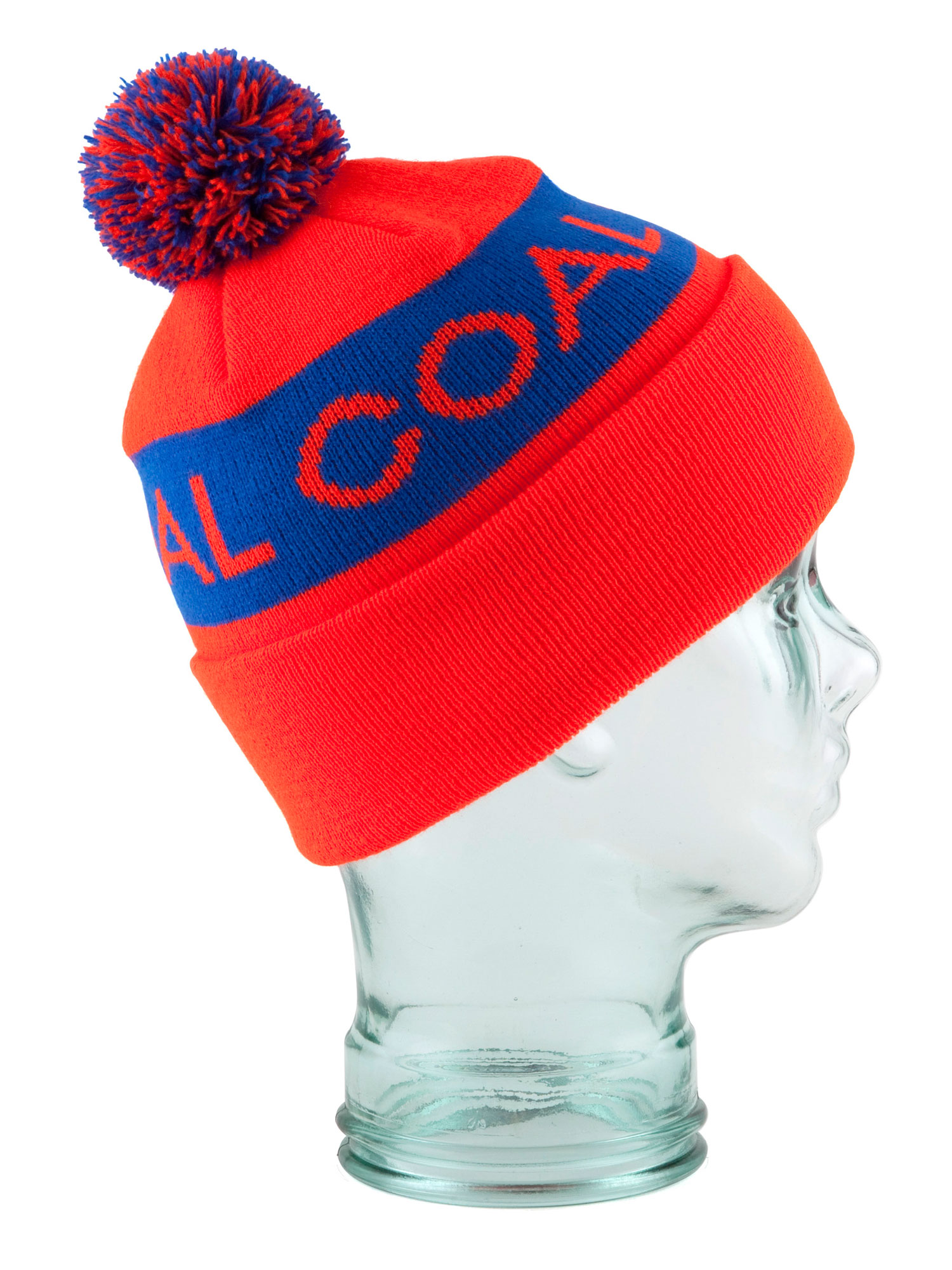 A classic fine-knit beanie that can be worn unfolded for a modern style or folded up for a classic look and fit. Updated for Fall 12 with multi-colored pom pom. Fine acrylic. - $12.95