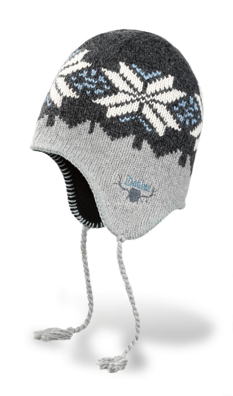Snowboard Key Features of the Dakine Hippy Flake Beanie: Rag wool/Acrylic blend Classic fair isle knit Full fleece lining - $16.95