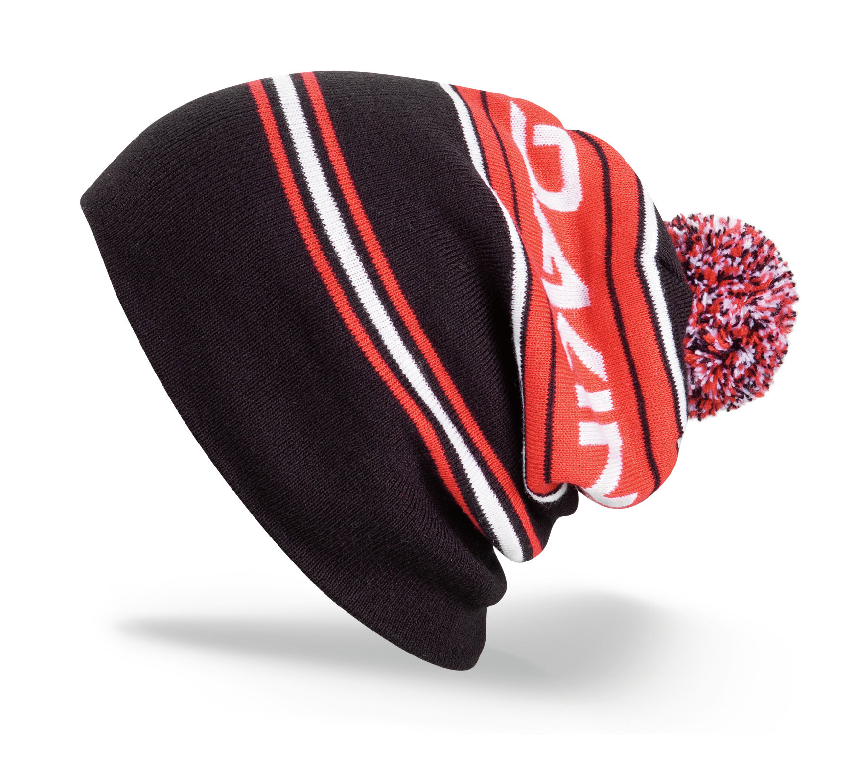 Snowboard Key Features of the Dakine Hank Beanie: Flat knit acrylic Double lined Can be worn cuffed or slouchy - $17.95