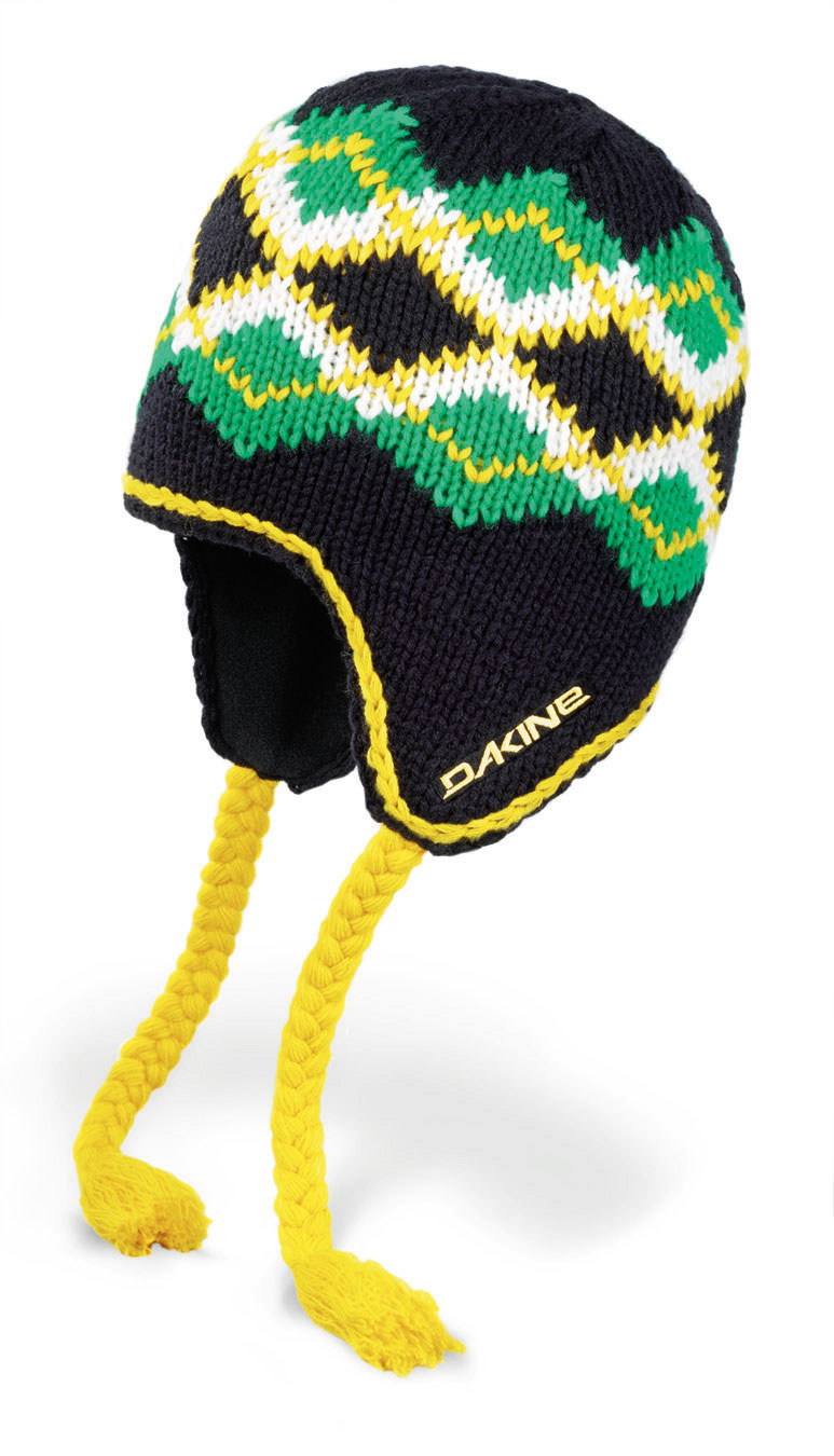 Snowboard Key Features of the Dakine Mcfly Beanie: Acrylic/wool blend argyle knit Hand finished seaming Full fleece lining - $11.95