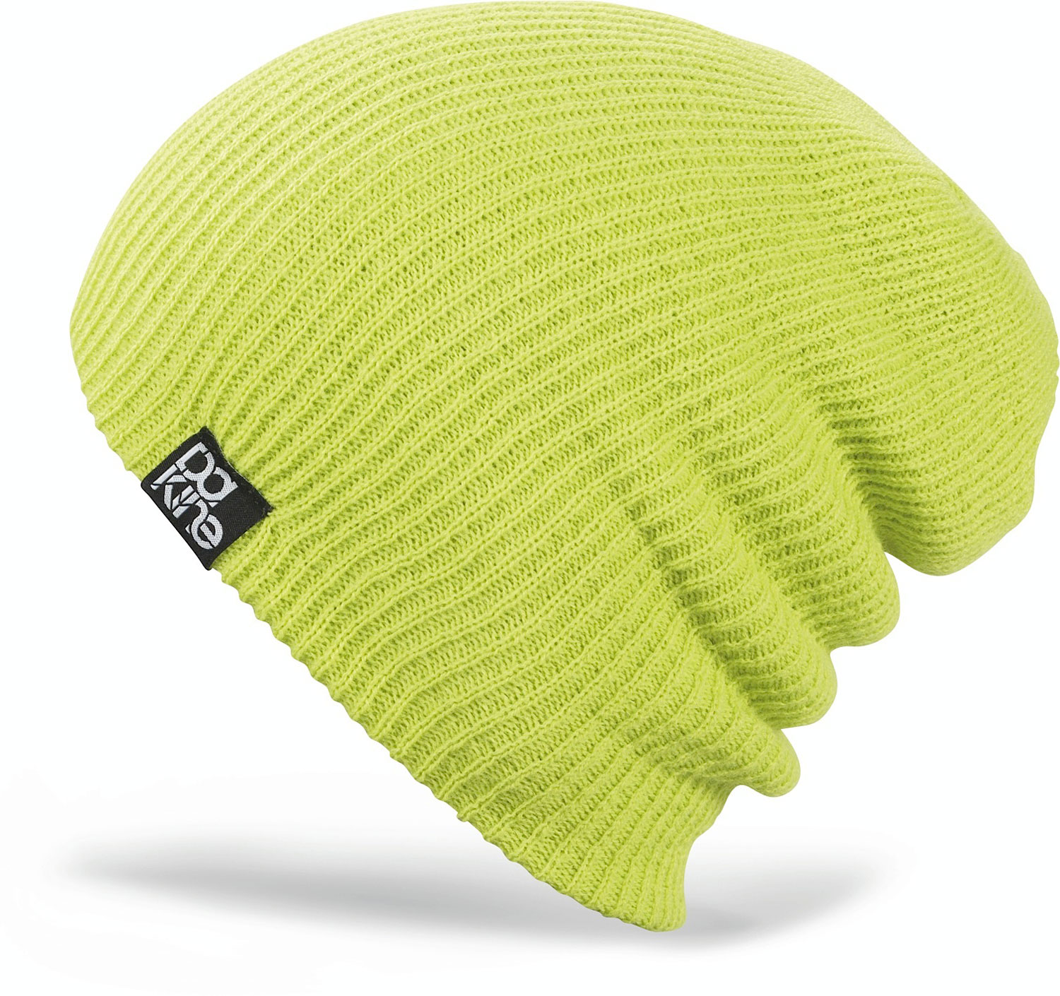 Snowboard This beanie can be roll it up or pull ot down ether way your going to look great in hat.Key Features of the Dakine Tall Boy Beanie: acrylic ribbed knit Double lined wear slouchy or cuffed - $12.95
