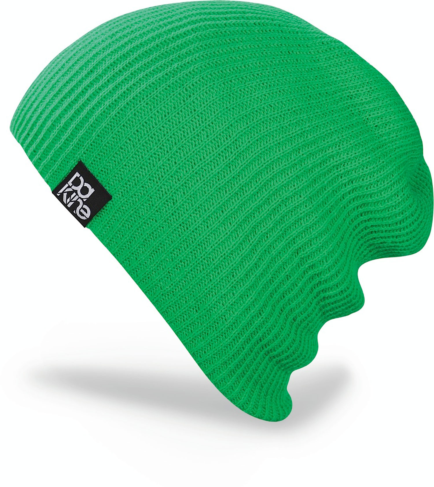 Snowboard This beanie can be roll it up or pull ot down ether way your going to look great in hat.Key Features of the Dakine Tall Boy Beanie: acrylic ribbed knit Double lined wear slouchy or cuffed - $20.00