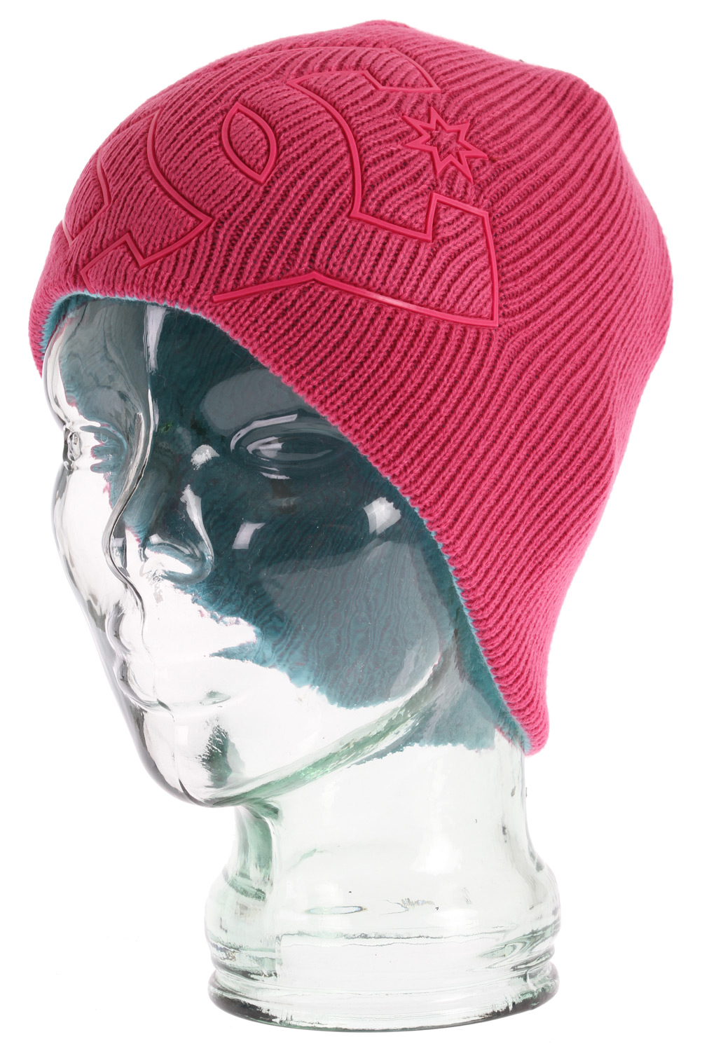 Reversible standard fit beanie. 100% acrylic. - $11.95