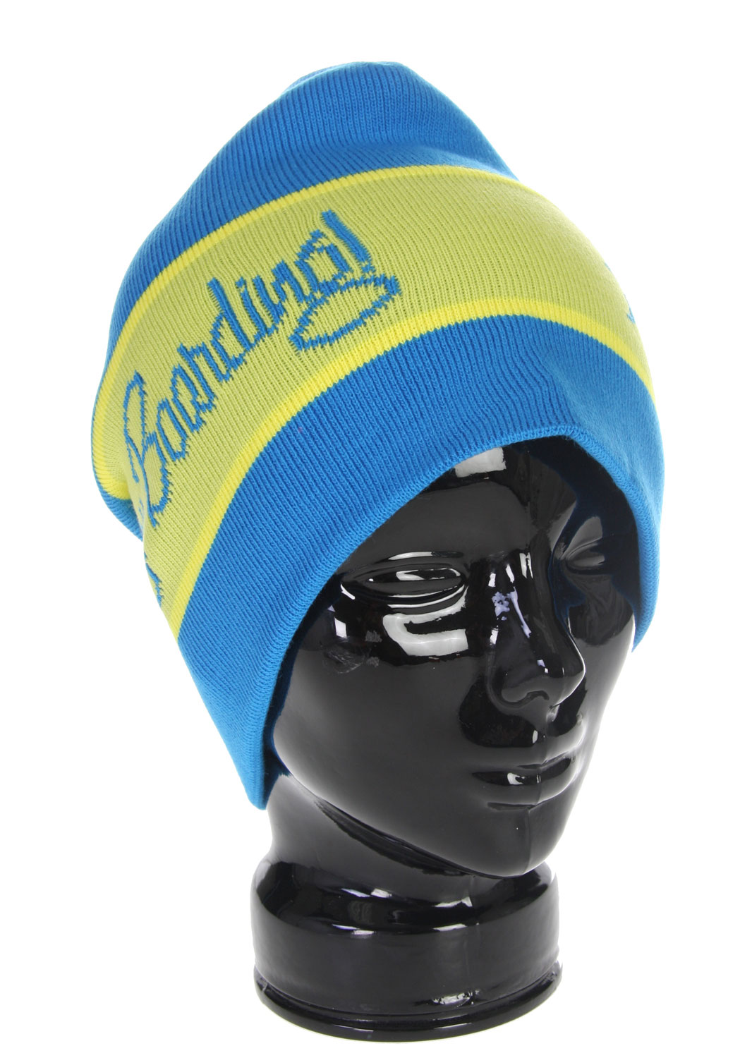 With this hat, you can wear your heart on your sleeve,. Or rather, your head! This great beanie from Forum features contrasting color stripes with the Boarding! knitted on the side of the cap. It is machine knit from 100% soft acrylic and will keep you warm while cruising down the mountain. Shred in style in the Forum Happy Beanie, a hat guaranteed to make a lasting impression. The Forum Happy Beanie Blue is sure to impress!Key Features of The Forum Happy Beanie. 100% soft acrylic Machine knit Engineered logo and stripes - $14.95