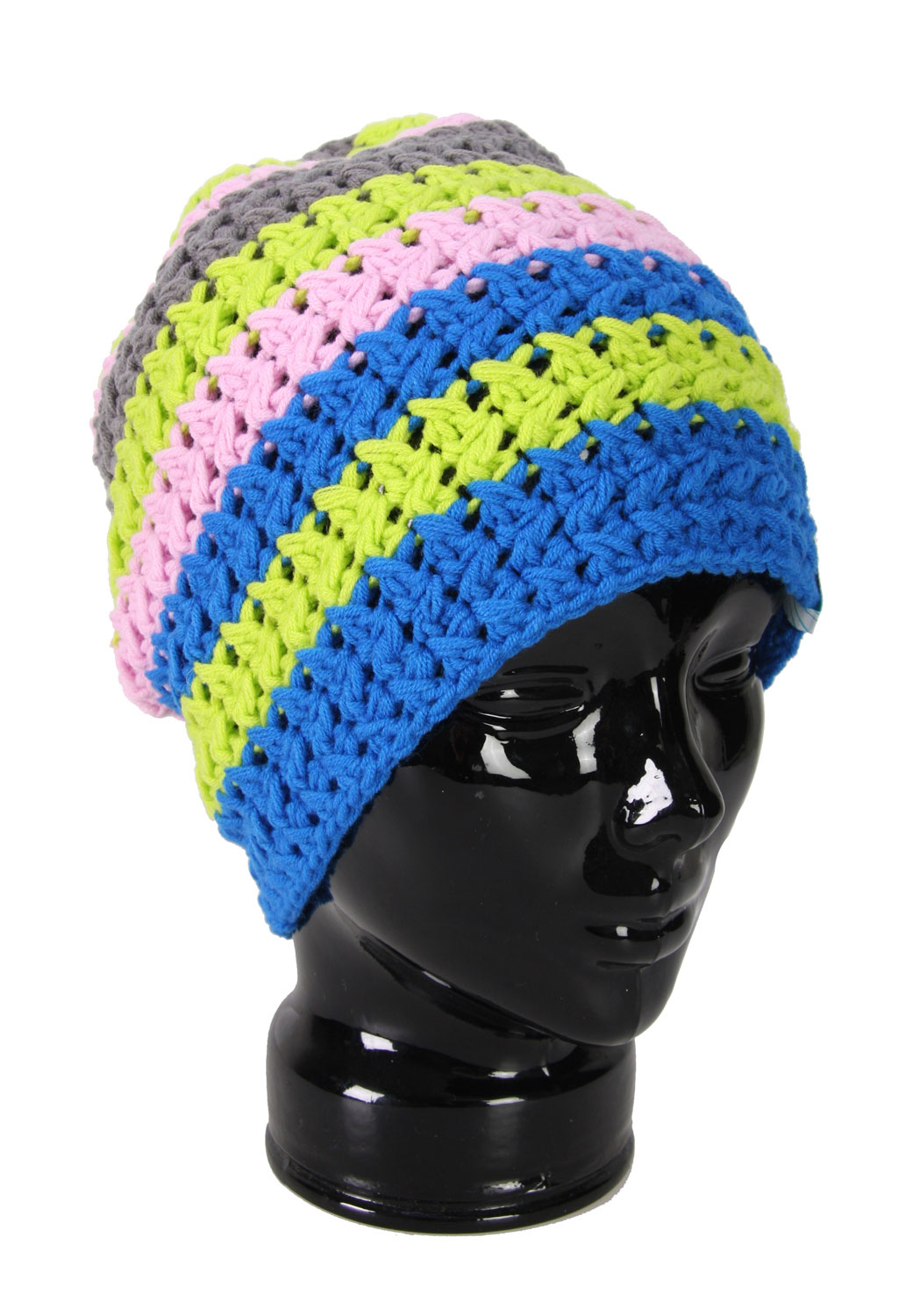 The Forum Spinster Beanie won't just keep your head warm, it will keep you in style too! This machine knit cap is made from 85% acrylic and 15% wool and features large crochet weave stripes to set this hat apart from all the rest. Say goodbye to your old boring winter hat and hello to this funky, fresh design from Forum. The Forum Spinster Beanie Green is a high quality, great looking hat at any even better price!Key Features of The Forum Spinster Women's Beanie: Machine Knit 85% Acrylic / 15% Wool Crochet Weave Stripes - $11.87