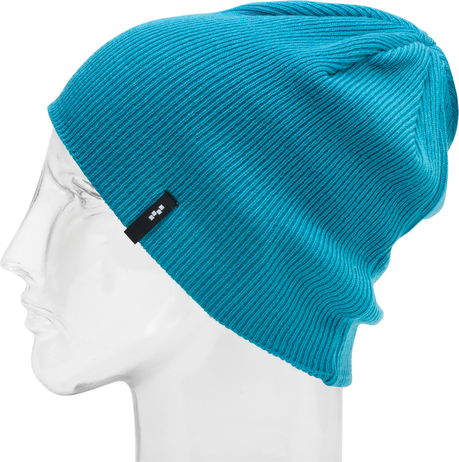 Snowboard Key Features of the Foursquare Dome Beanie: 100% Acrylic Classic Style Machine Knit Ribbed - $15.95
