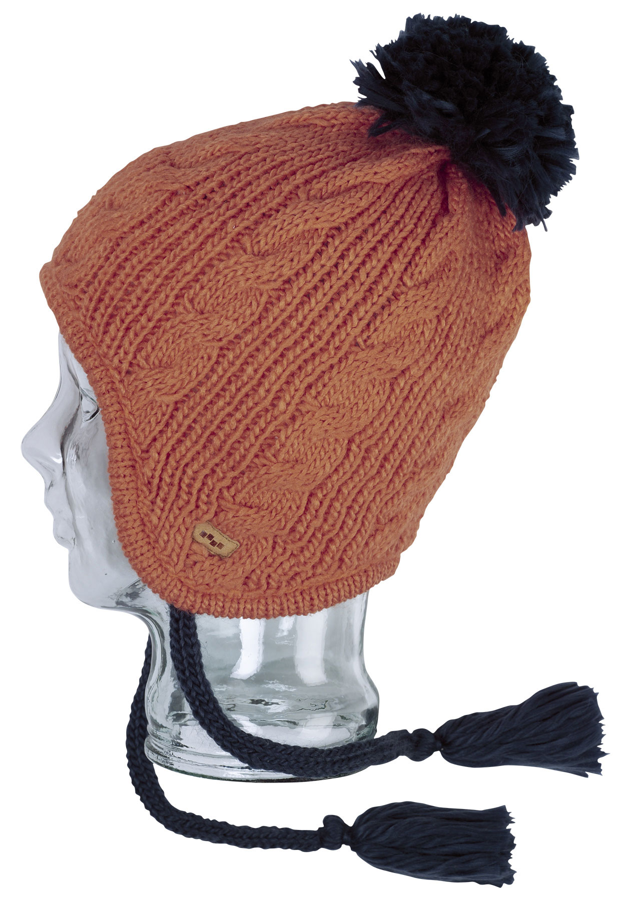 Surf Having a warm head has never looked so good. This adorable Foursquare Flip Flop Beanie will keep you toasty on the slopes, and keep you looking stylish no matter where you decide to pull it on. The fuzzy lining is made to keep ears fully covered and insulated, and the tassels can be tied up or left hanging loose. Keep yourself looking turned on all winter long with the help of Foursquare, your trusted name in winter wear. - $9.95