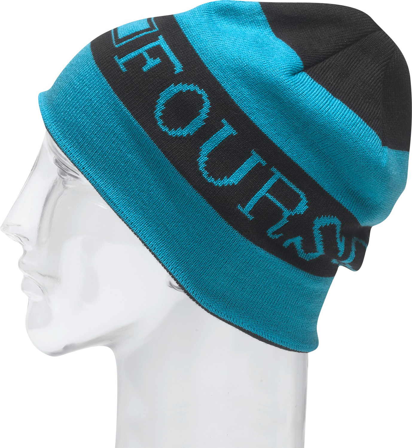 Snowboard Key Features of the Foursquare Scroll Beanie: 100% Acrylic Machine Knit Intarsia Skully Beanie - $19.99
