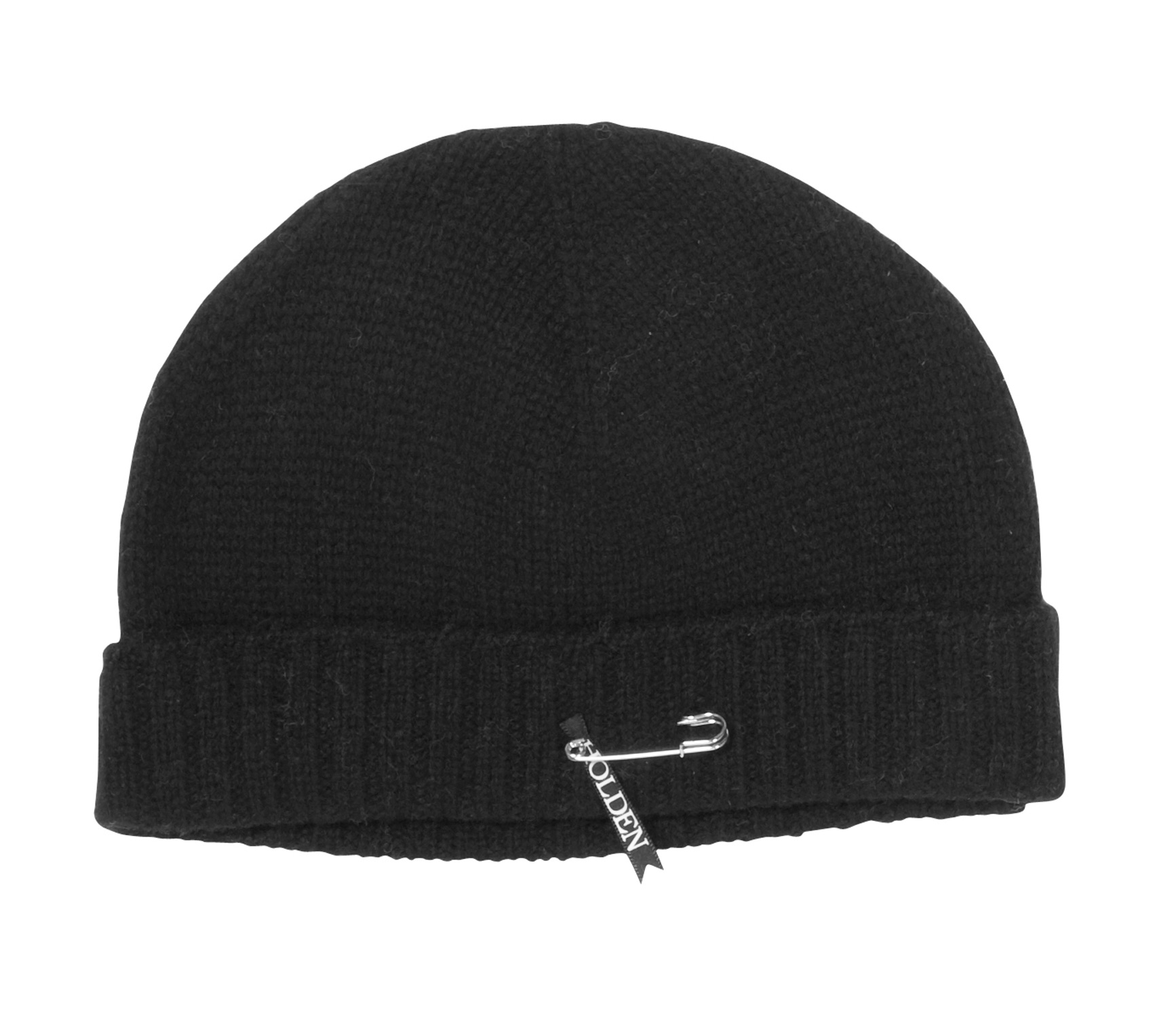 When your tongue in stuck on a frozen stop sign pole this winter, atleast your head will be warm inside of this beanie from Holden.* Mid-weight jersey knit body * 2 x 1 rib at cuff * Detailed with a removable Holden safety pin logo * 30% wool / 70% Acrylic - $16.95