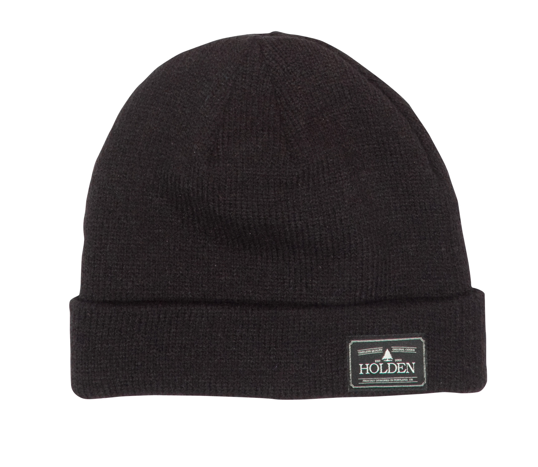 Key Features of the Holden Cuffed Classic Beanie: Light weight double layer classic fit cuffed hat Holden patch at cuff 100% Acrylic - $10.95