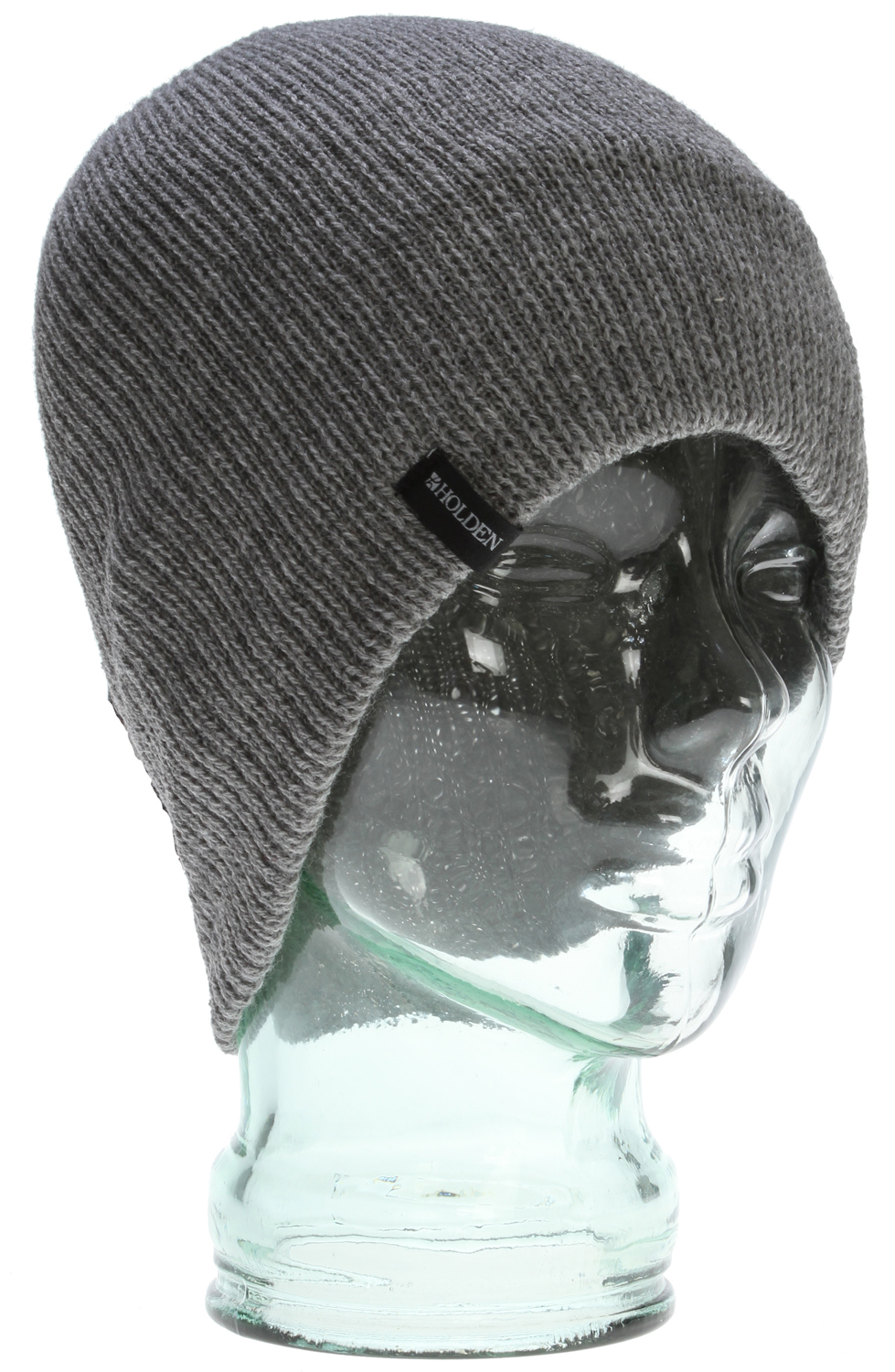 Light weight, modern fit, and fine-knit ribbed beanie; can be worn rolled up or down. - $13.95