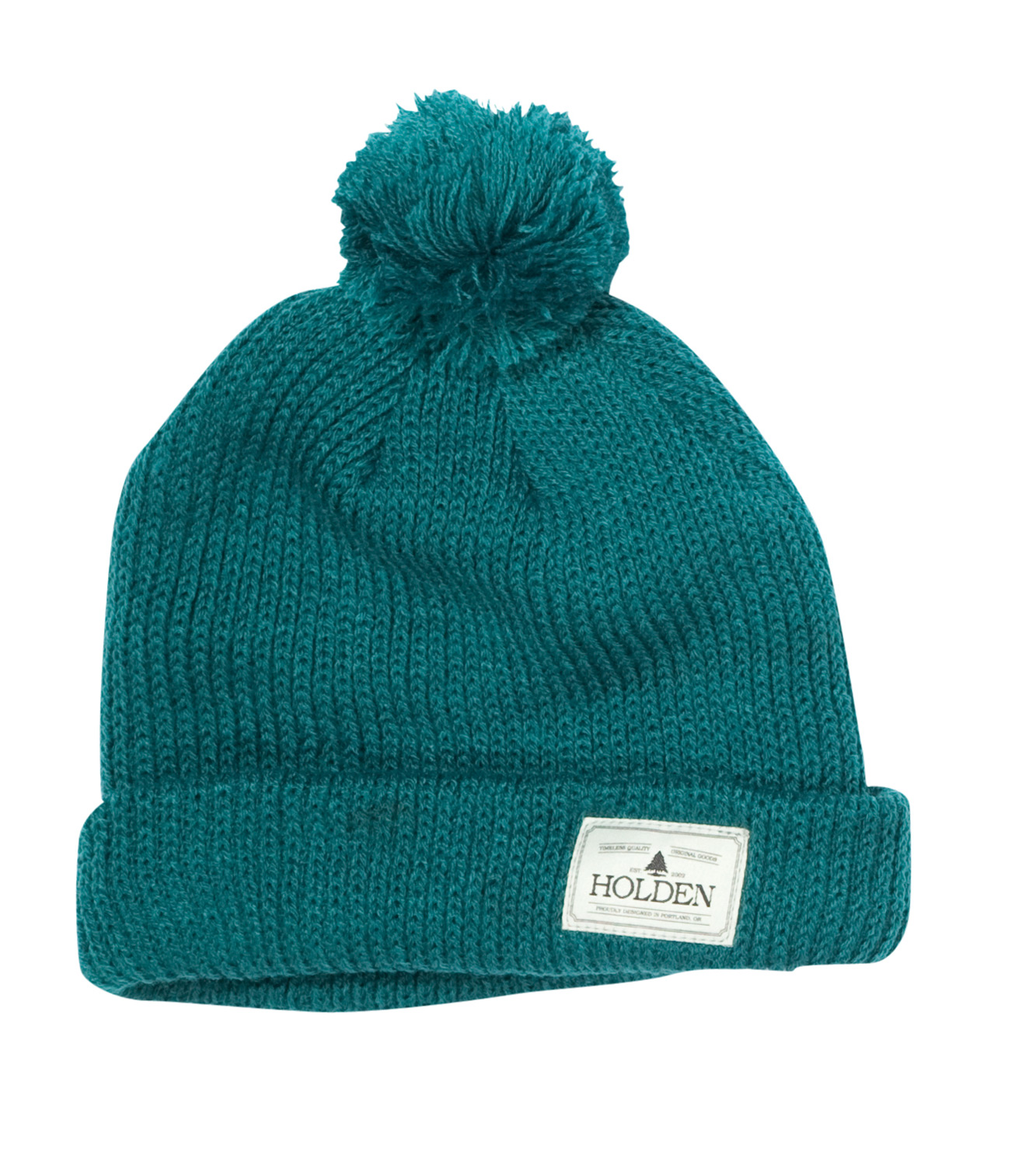 Key Features of the Holden Cuffed Pom Pom Beanie: Double layer classic fit cuffed hat Holden patch at cuff with removable pom pom 100% Acrylic - $11.95