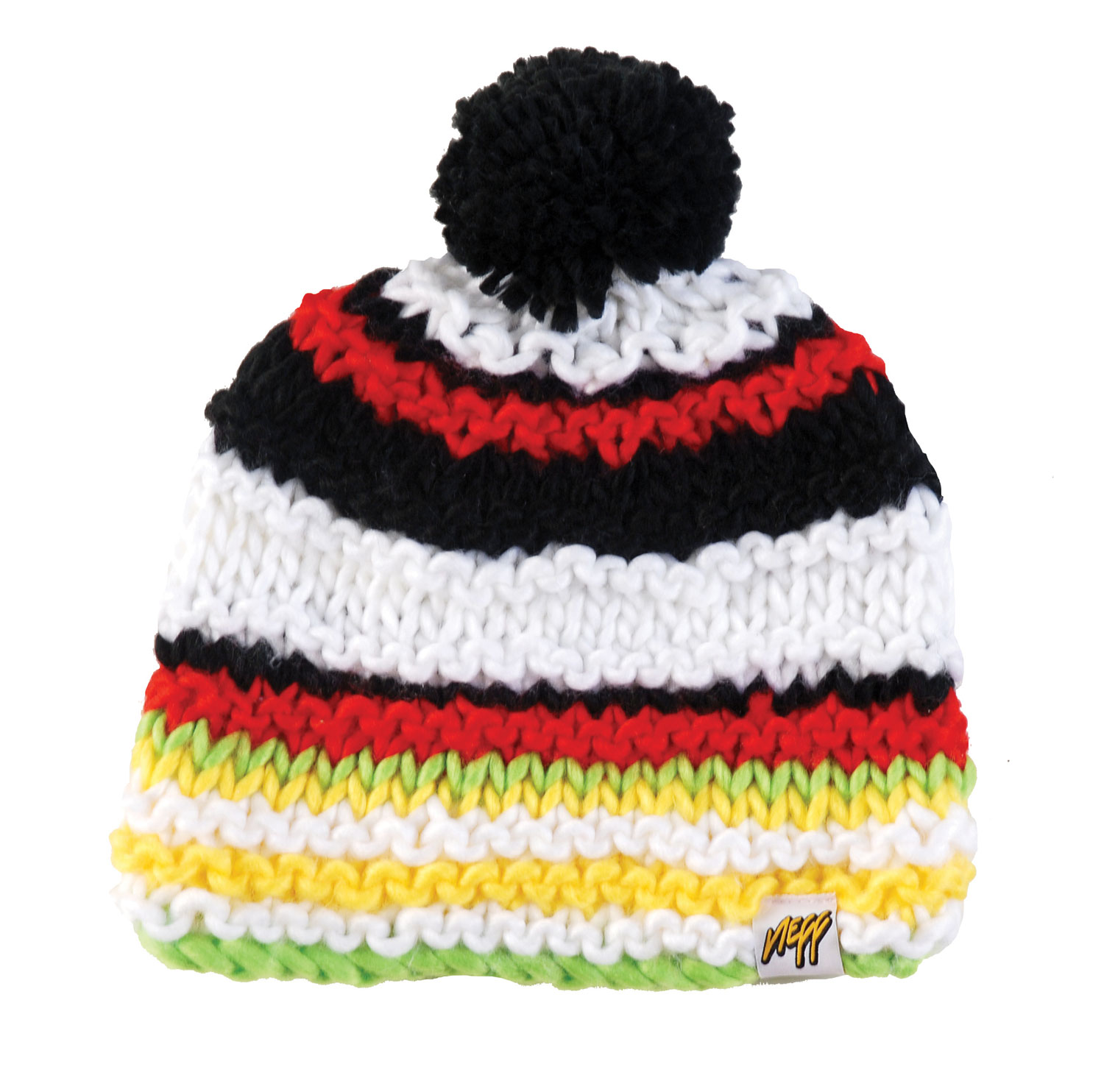 Snowboard 100% AcrylicKey Features of the Neff Bozo Beanie: 100% Acrylic Skull Fit with TASTEFUL Pompom - $14.45