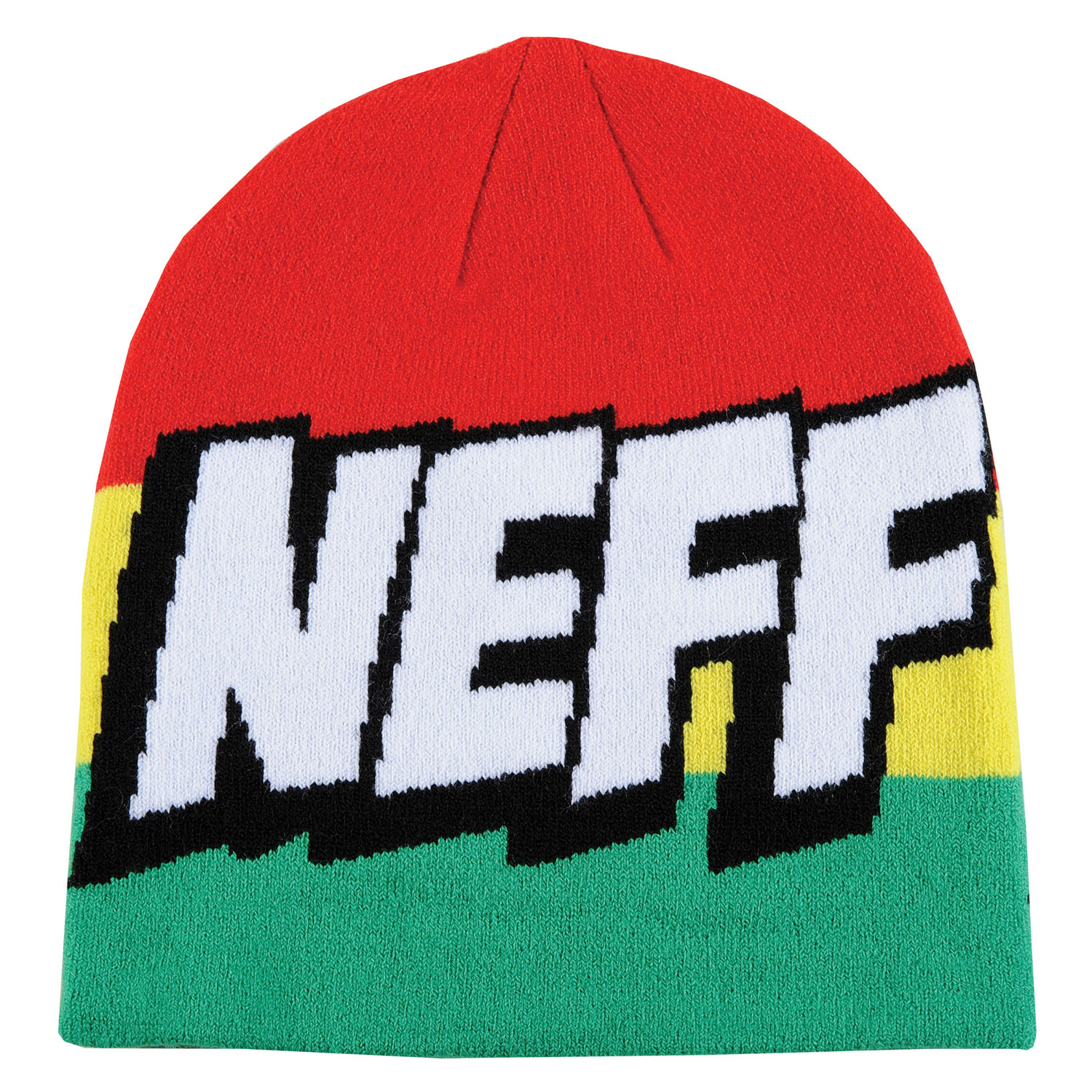 Skateboard Key Features of the Neff Cartoon Beanie: 100% Acrylic - $22.00