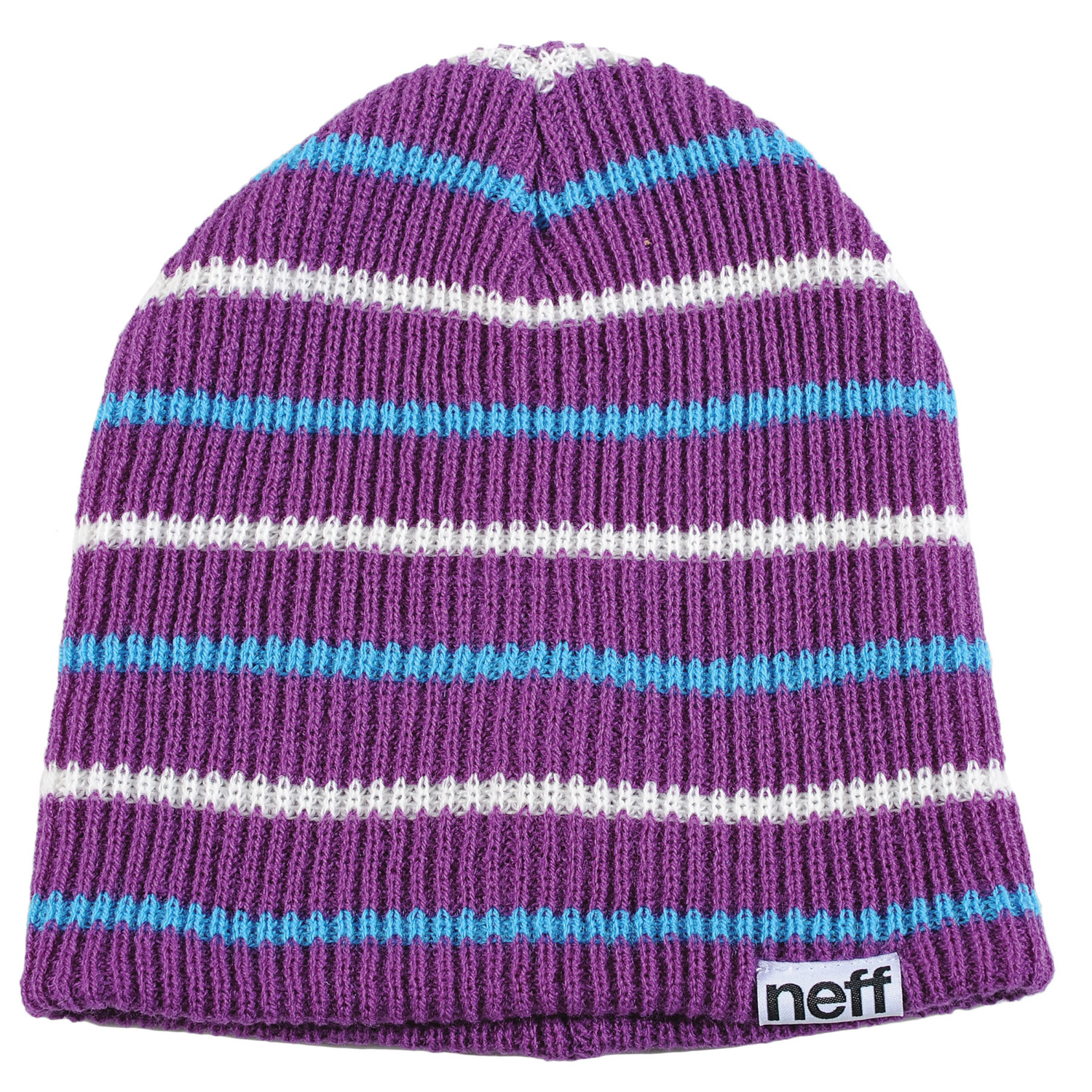 Skateboard 100% AcrylicKey Features of the Neff Daily Multistripe Beanie: 100% Acrylic - $18.00
