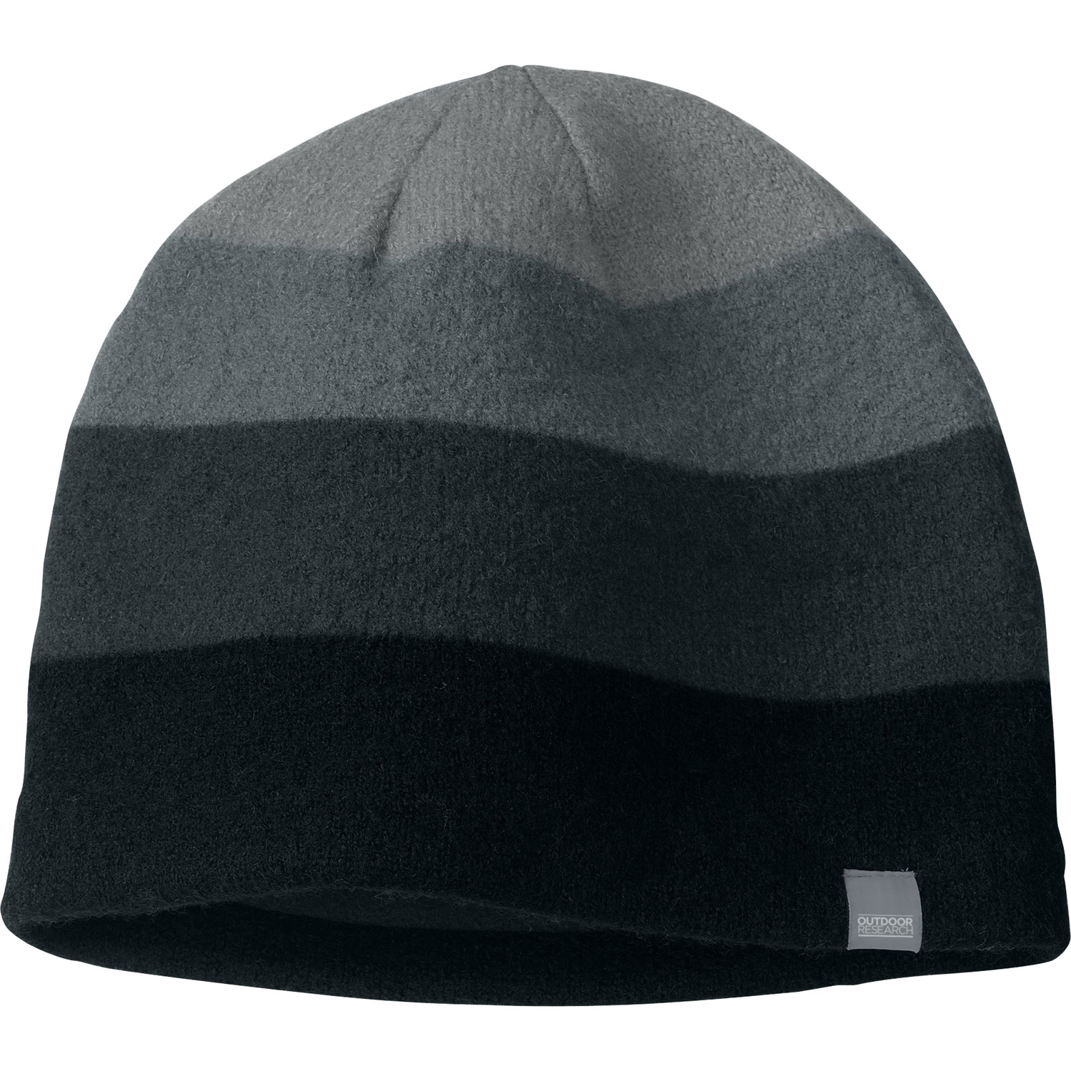 Key Features of the Outdoor Research Gradient Beanie: 100% boiled wool Fleece-lined ear band - $27.00