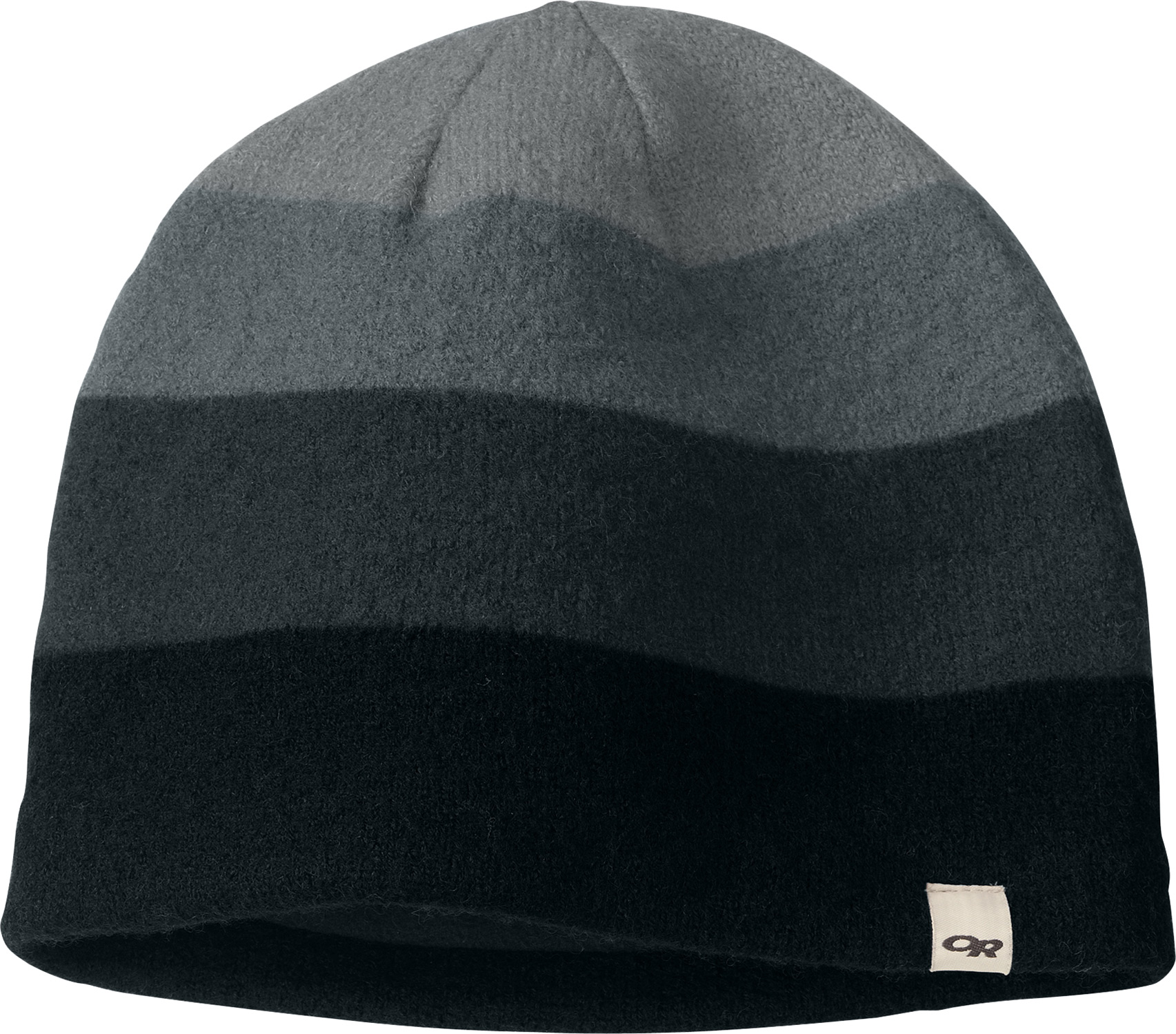 Key Features of the Outdoor Research Gradient Beanie: 100% boiled wool Fleece lined ear band - $22.65