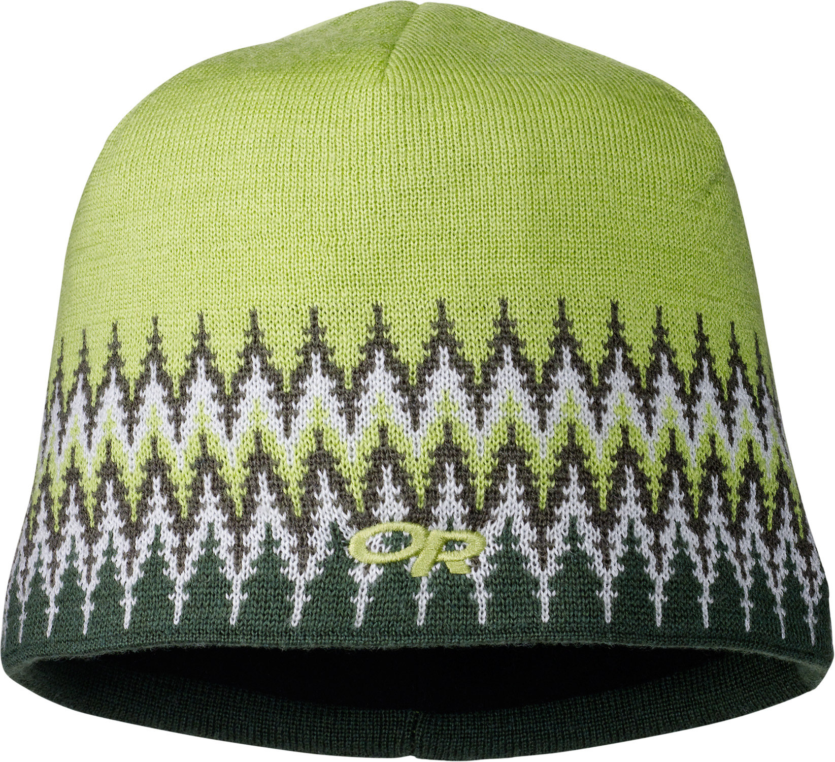 Your sure to stay warm this season with this fleece lined winter accessory. The Outdoor Research Treeline Beanie is a must have and features a cool striped graphic design.  70% acrylic/30% wool   Micro fleece lining - $12.95
