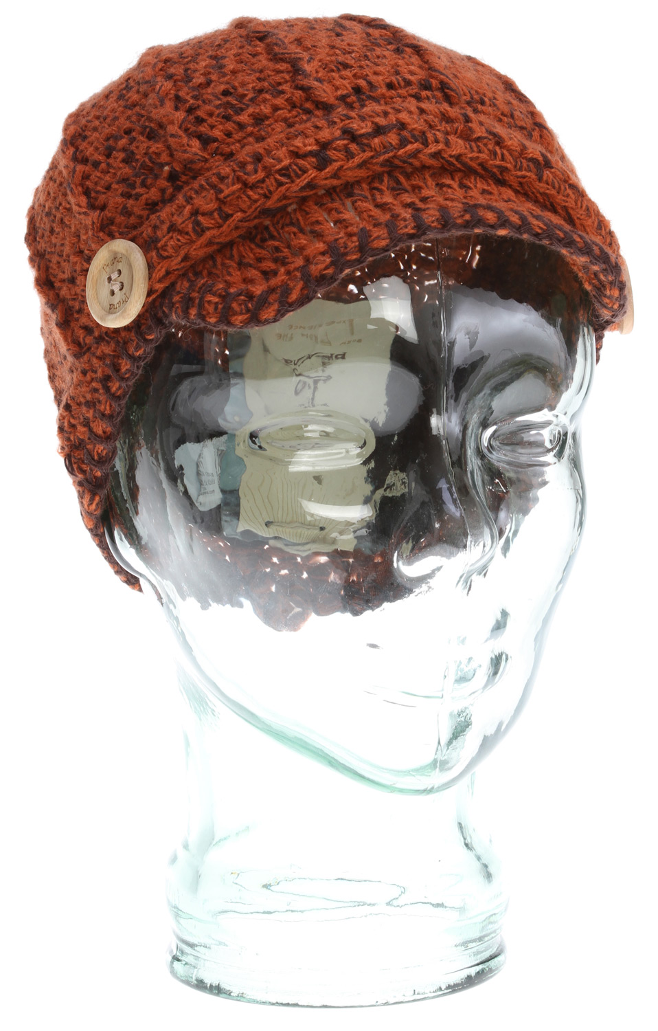 50% organic cotton adds a sustainable feel-good to an already excellent beanie. Icing on the cake for a warm, soft, detailed visor beanie.Fabric: 50% Organic Cotton, 50% AcrylicKnit visor beanieDecorative yarn detailFleece inner bandSkully Fit - $19.95
