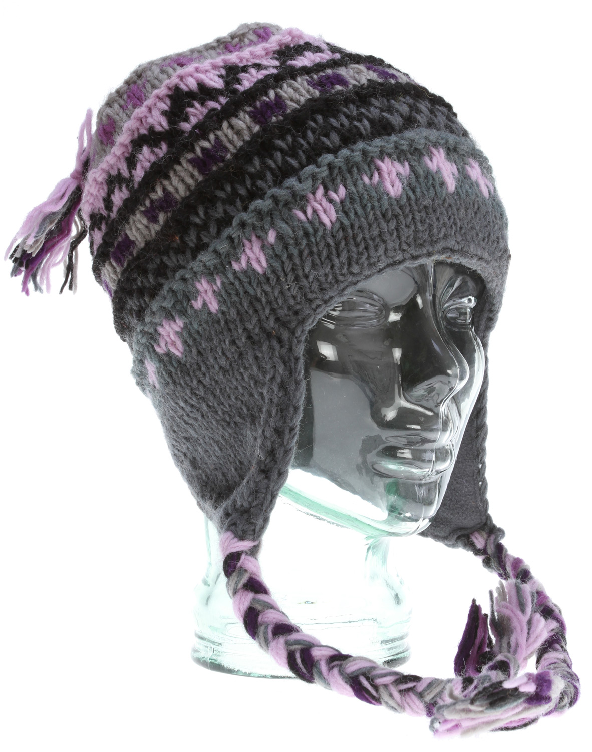 The colorful Marci is fun and intricately detailed, but its 100% Nepalese wool and ear flaps don't slack on cold protection.Key Features of the Prana Marci Tassel Beanie: Intricate intarsia pattern Ear flaps with braided multi colored tassels Fleeced inner band Standard Fit 100% Wool - $39.00