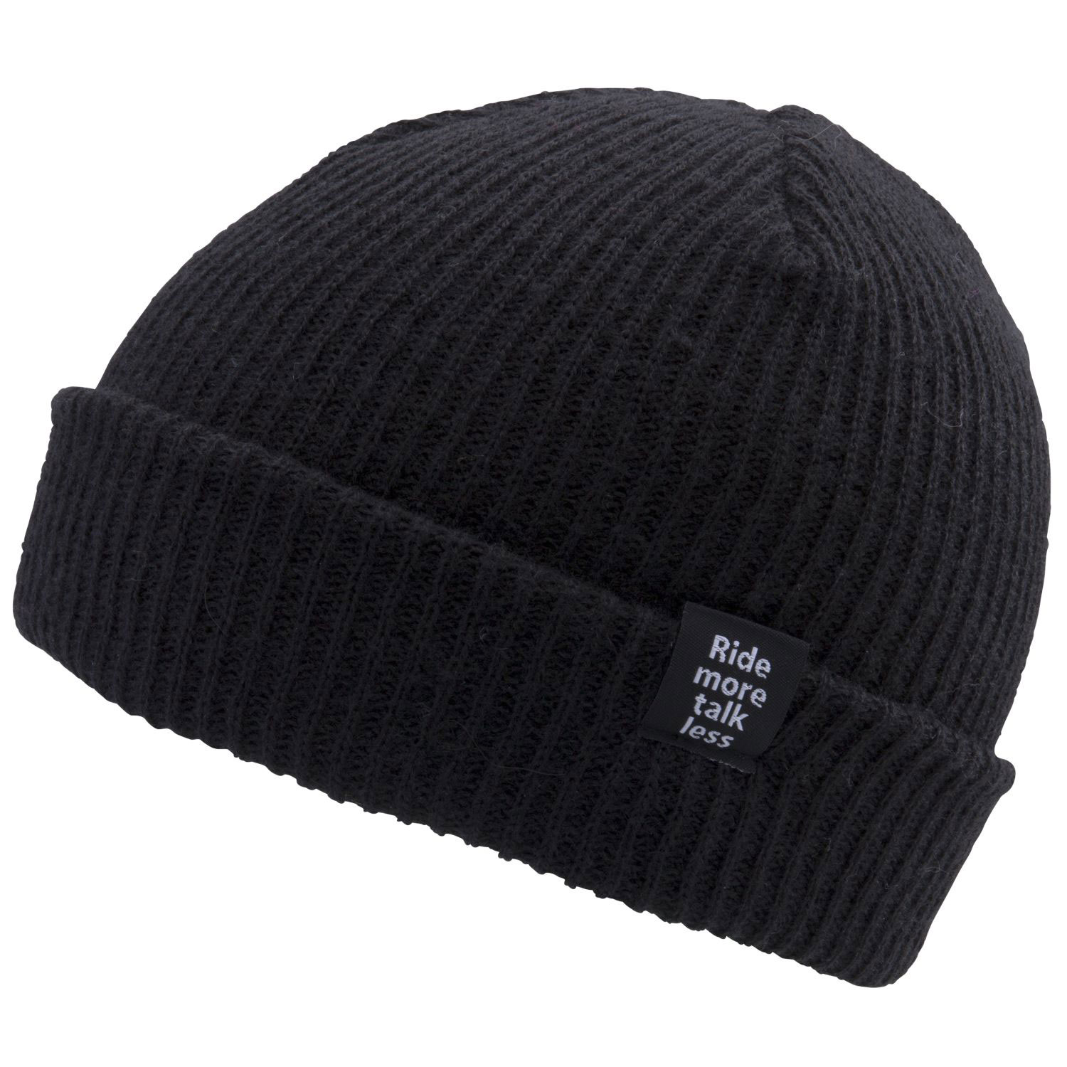 Key Features of the Ride Gas Station Beanie:  Light-Weight  100% Acrylic  Longer Length to fold Up or Wear Long  Custom Woven Label - $12.95