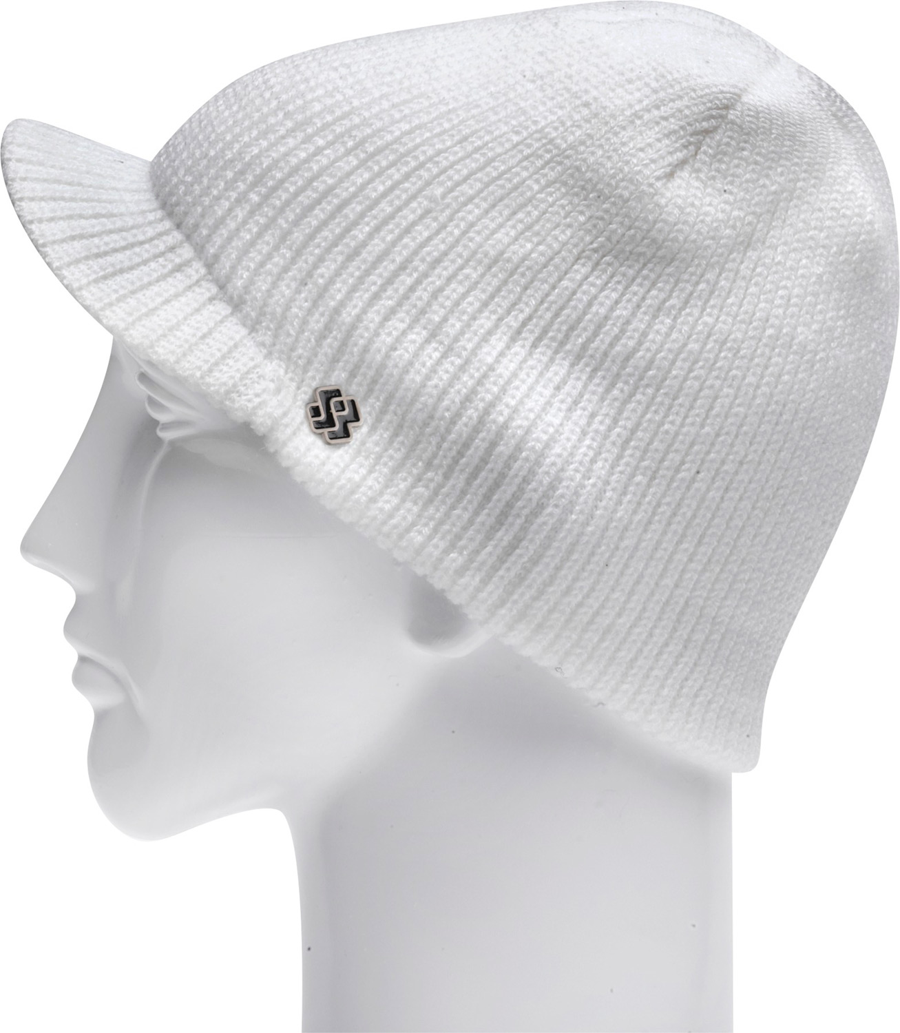 "Key Features of the Special Blend Beat Visor Beanie: Machine knit 100% acrylic 7.5"" tall Visor beanie One size fits all - $23.95"