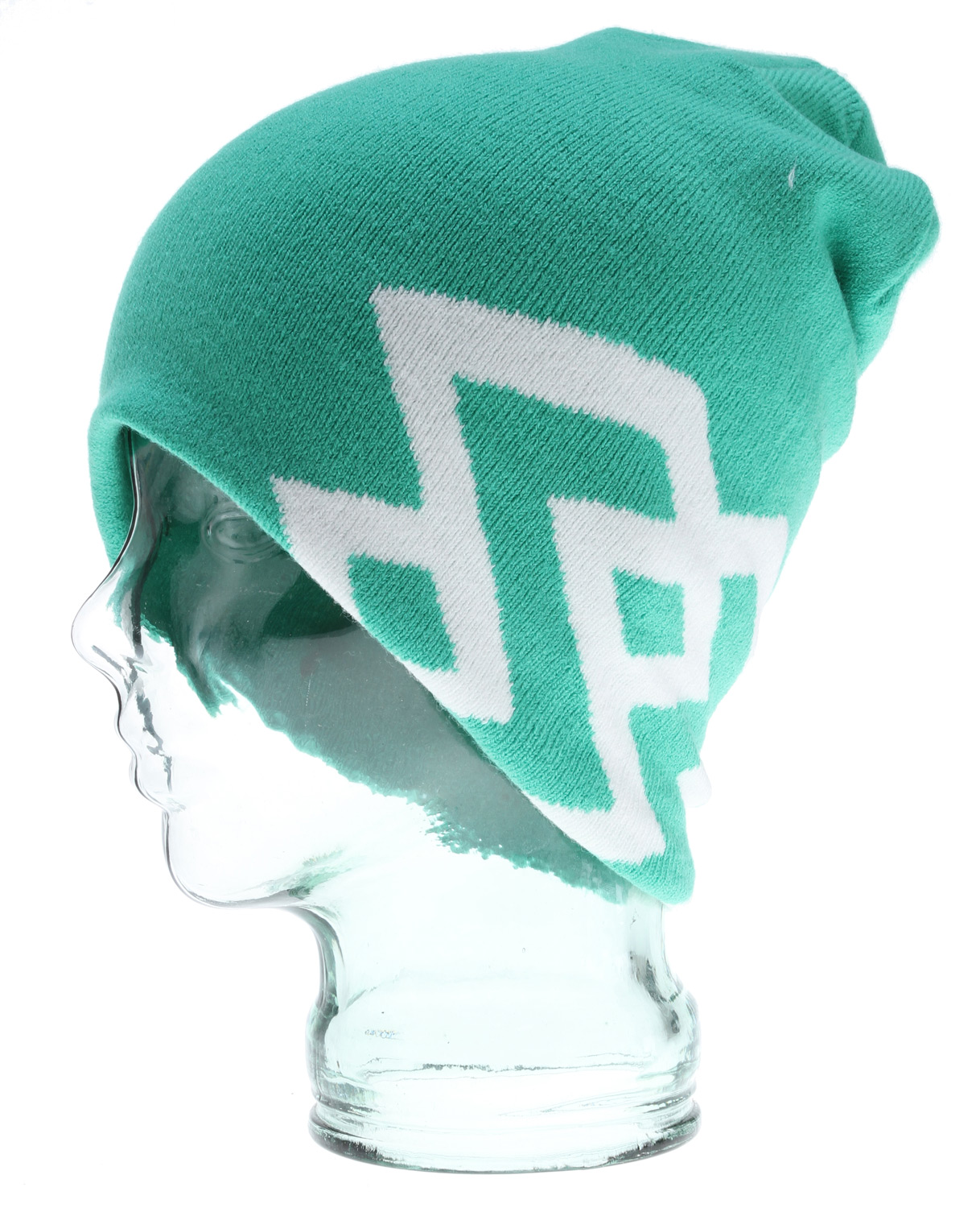 Key Features of the Special Blend Chugger Beanie: Machine Knit 97% Acrylic 3% Spandex Slouch Style Magic Knit Jacquard - $19.99