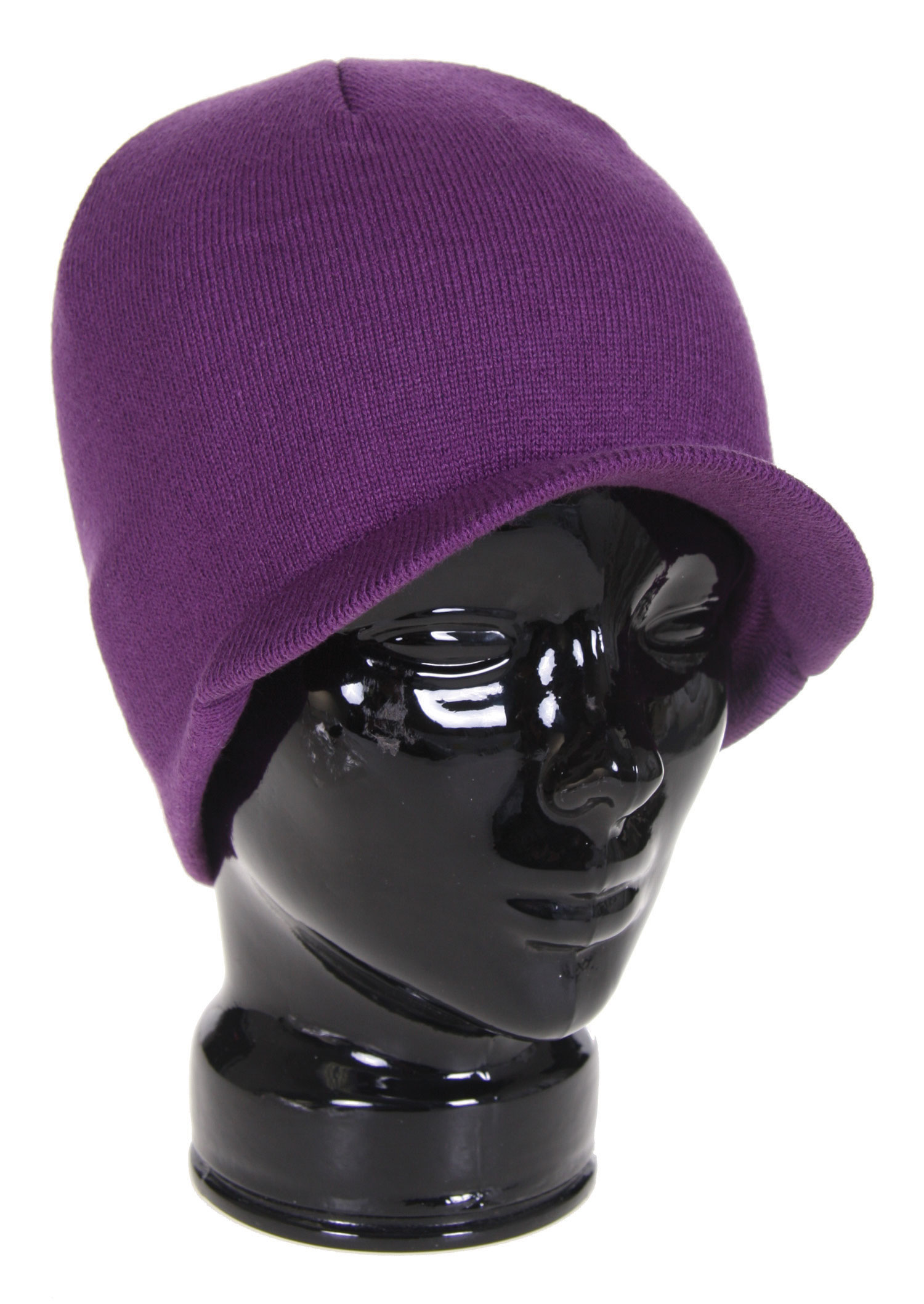 The Special Blend Icon Visor Beanie - 100% Soft Acrylic / Machine Knit / One Size Fits All - $7.95