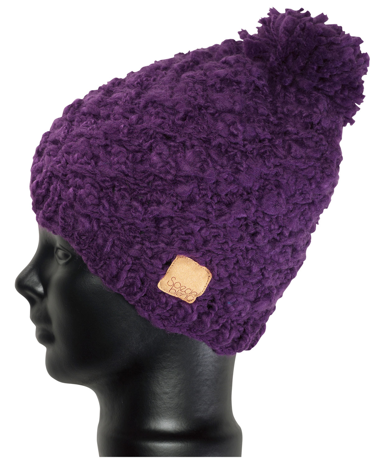 What a cute, playful beanie to have this winter season.  The Special Blend Pom Pom Beanie features flirty pom poms, very girlie and cute.  Made with 100% acrylic, this super soft fabric is so soft to the touch.  It's perfect for wearing everyday with comfort and ease.  Be sure to add this to your winter collection, a definite must have for every girl.  Rock it with style while staying extra warm and cozy.100% soft acrylicMachine knit11  tall - $11.95