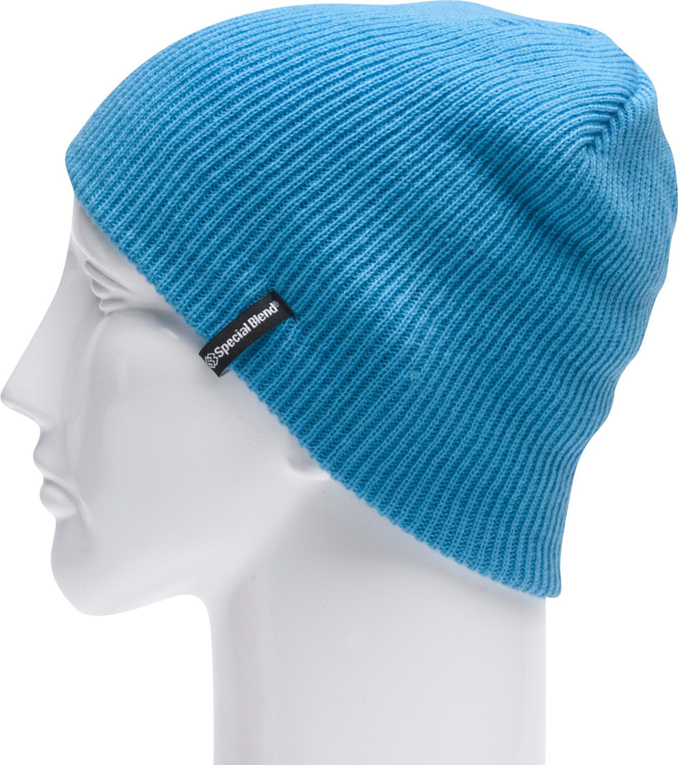 "Key Features of the Special Blend Traverse Beanie: Machine knit 100% acrylic 9 1/2"" tall 1x1 fine rib One size fits all - $19.95"