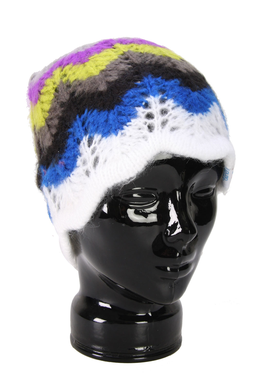 If your looking for a great looking way to keep your ears warm when you are out there toughing those winter conditions then this Special Blend Tulip Beanie would be great for you. The hat offers a multiple of great designs and beautiful colors. There are a ton of options so you should be able to find that hat that you will love to put on and wear on a daily basis. Treat that head of yours with a little respect and get it something great looking to keep it warm.Key Features of The Special Blend Tulip Women's Beanie: 100% Mohair Acrylic Hand Knit Woven Logo Label Hand Knitted Stripes - $11.95