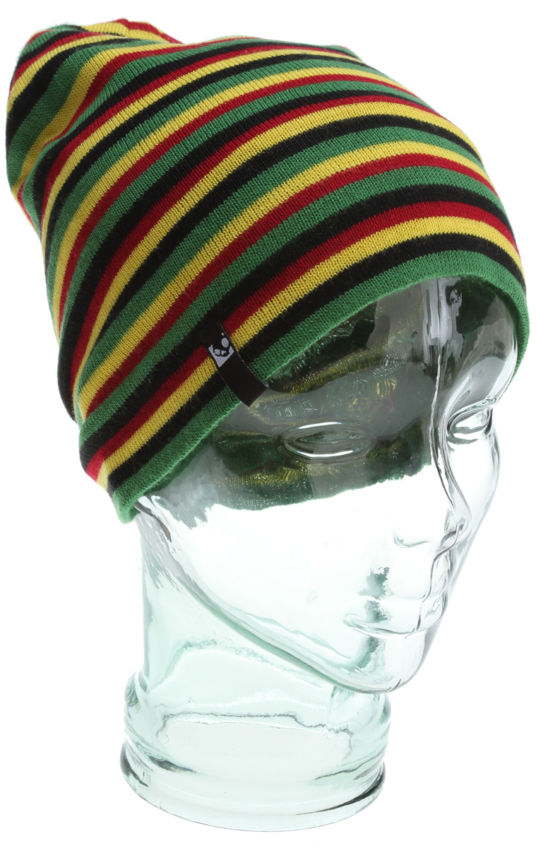 Key Features of the Skullcandy Huffy Beanie: 100% acrylic slouch beanie Yarn dyed stripes Woven logo label - $19.99