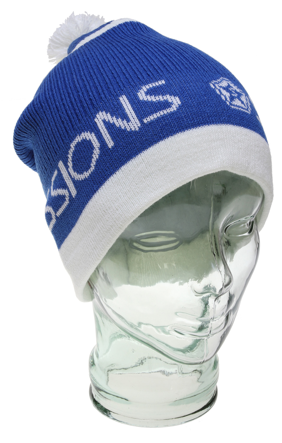 If you feel like staying warm without sacrificing your style, be sure to grab the Sessions Double Agent Beanie for men. This fashionable and functional beanie is constructed of 100% acrylic material, standing up to any abuse thrown its way. Perfect for staying warm at the resort, in the backcountry, or even while sipping martinis. Of course - shaken, not stirred.  One Size   Two-tone Beanie   Thick Pom   Acrylic - $8.95