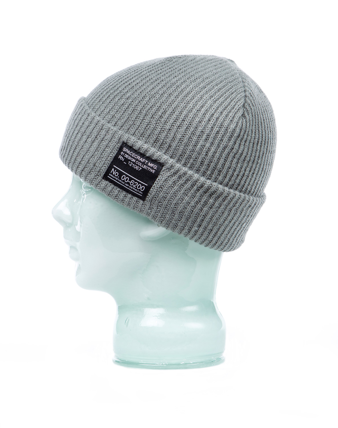 Key Features of the Spacecraft Dock Beanie: Standard Fit Light weight, Deconstructed knit beanie with double layer construction with custom patch on cuff Worn with a folded cuff. Material: Acrylic - $11.95