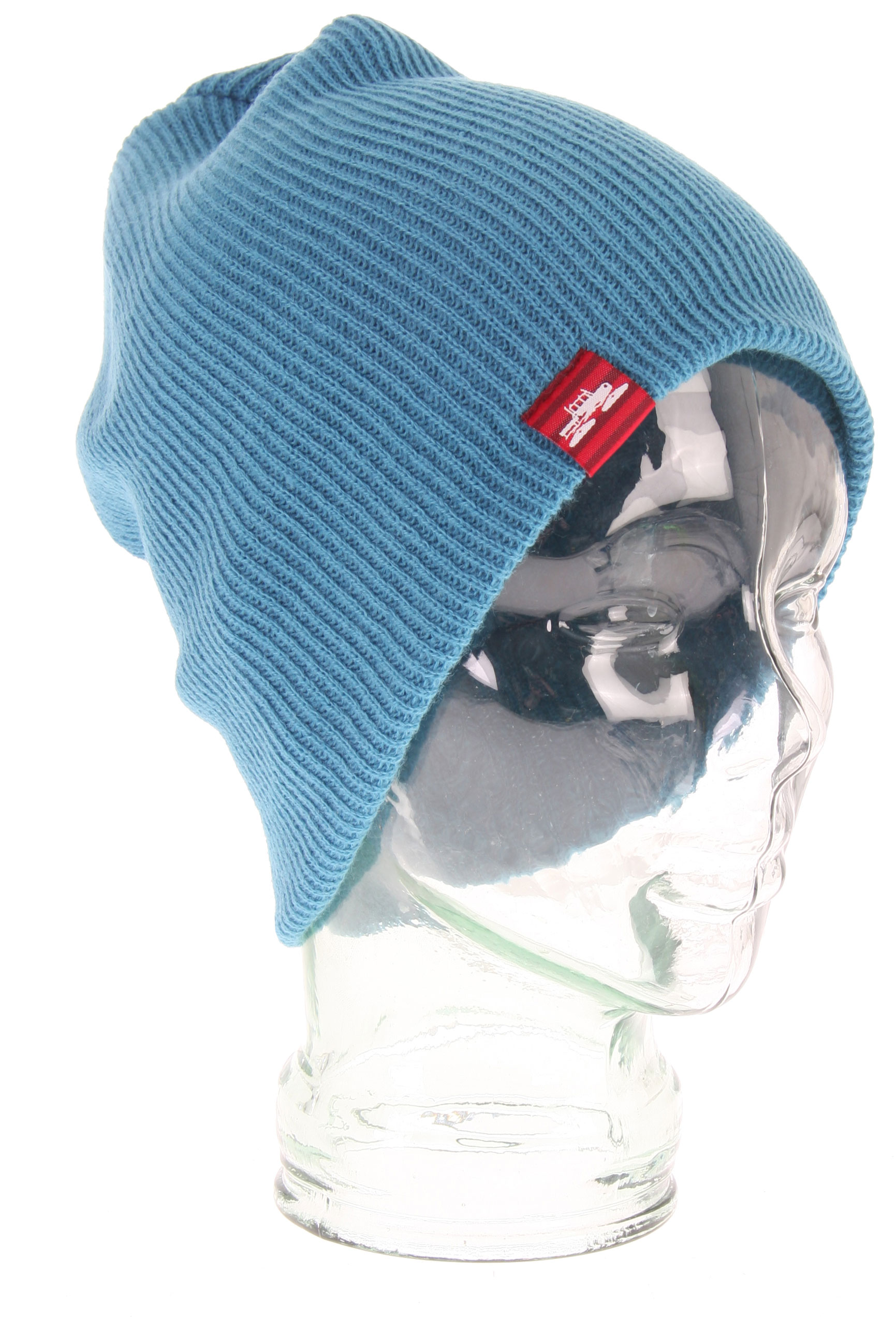 The Spacecraft Offender Beanie. Slouch fit // A modern fitting fine knit ribbed beanie that is pliable for desired fit - $11.96