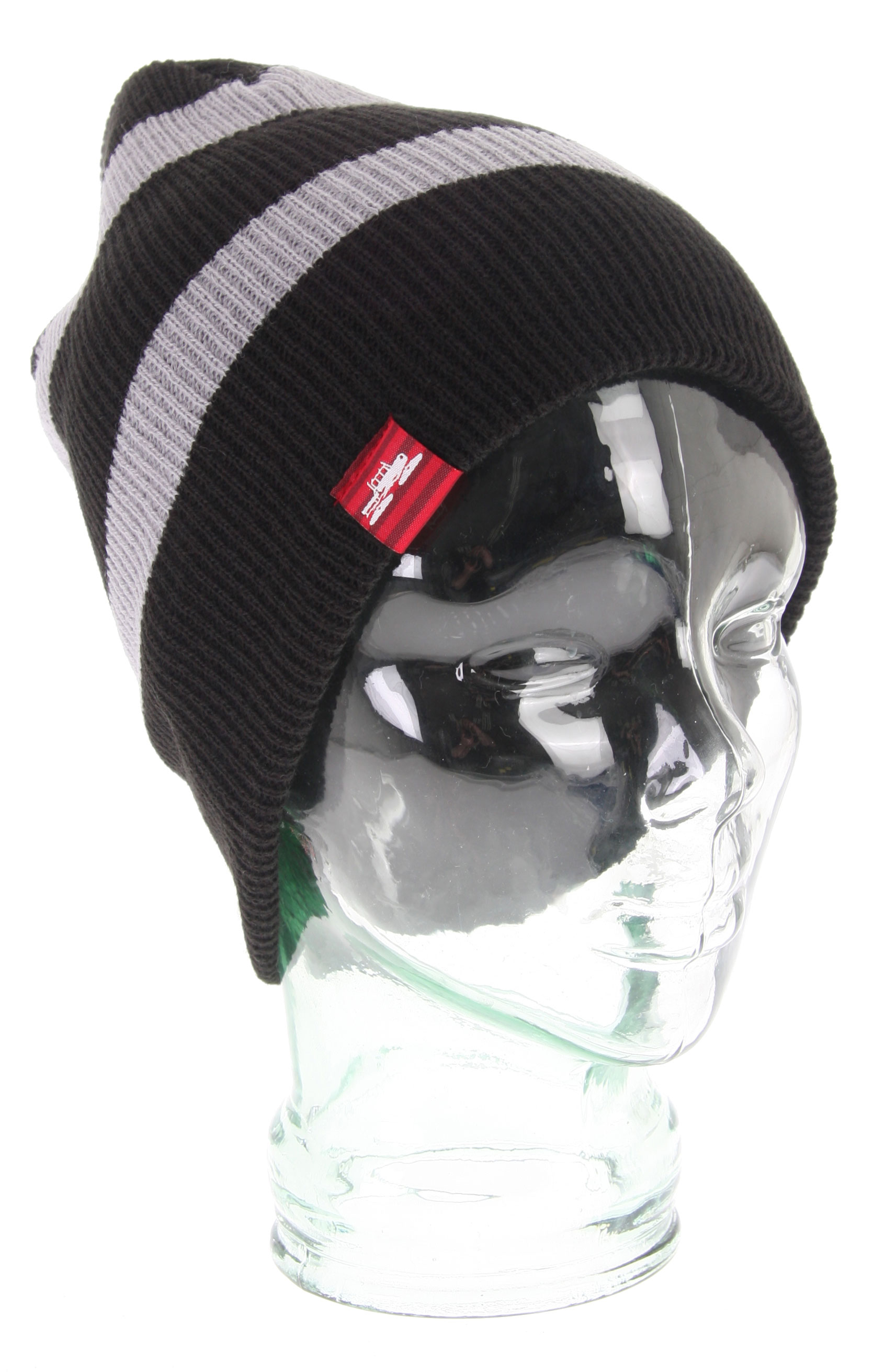 Key Features of the Spacecraft Offender Thin Stripe Beanie: Slouch Fit Modern fitting fine knit beanie that is pliable for desired fit. - $11.96