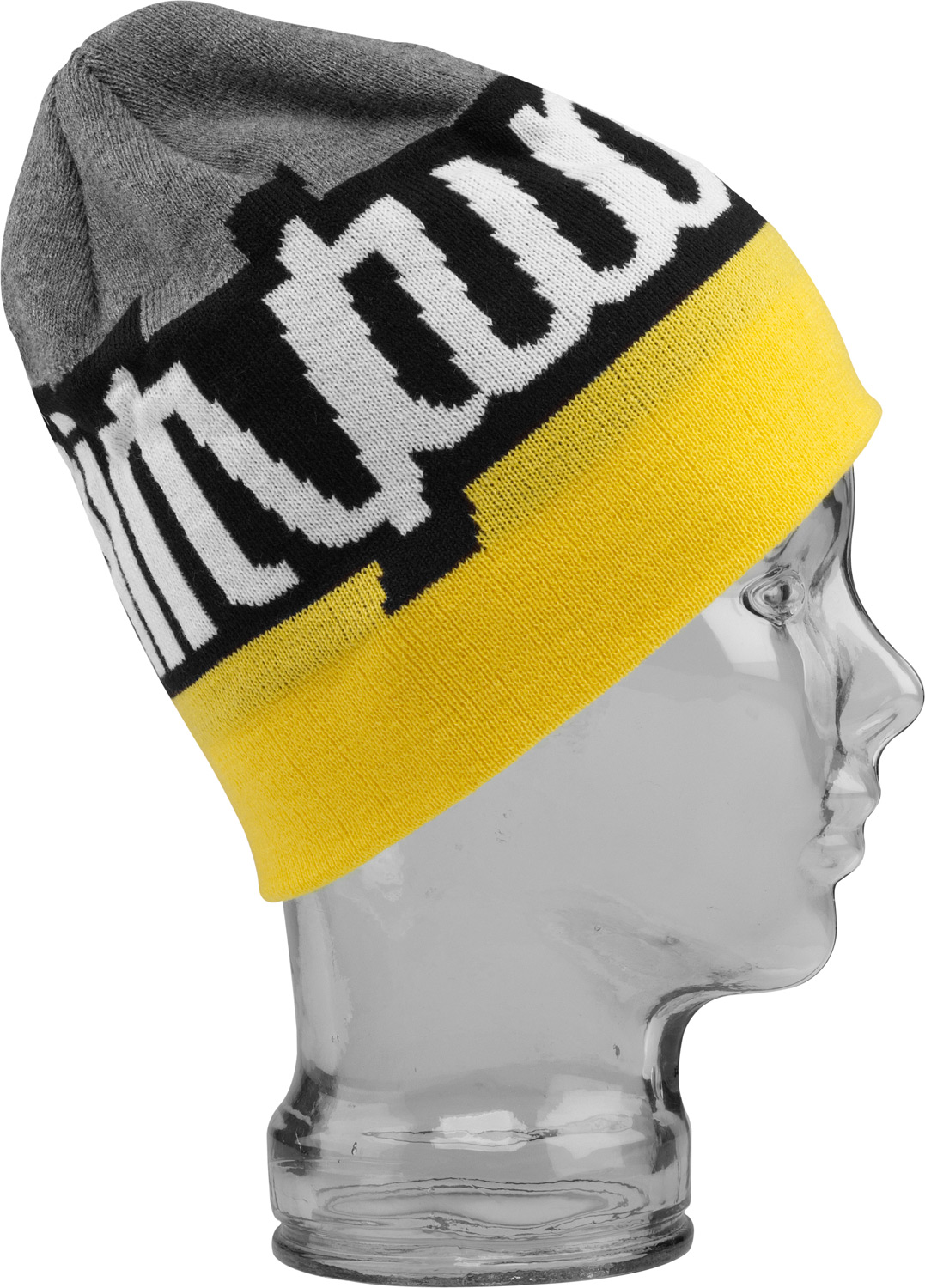 Key Features of the 32 - Thirty Two Fifty Fifty Beanie: 100% acrylic colorblocked beanie with jacquard double logo - $17.95