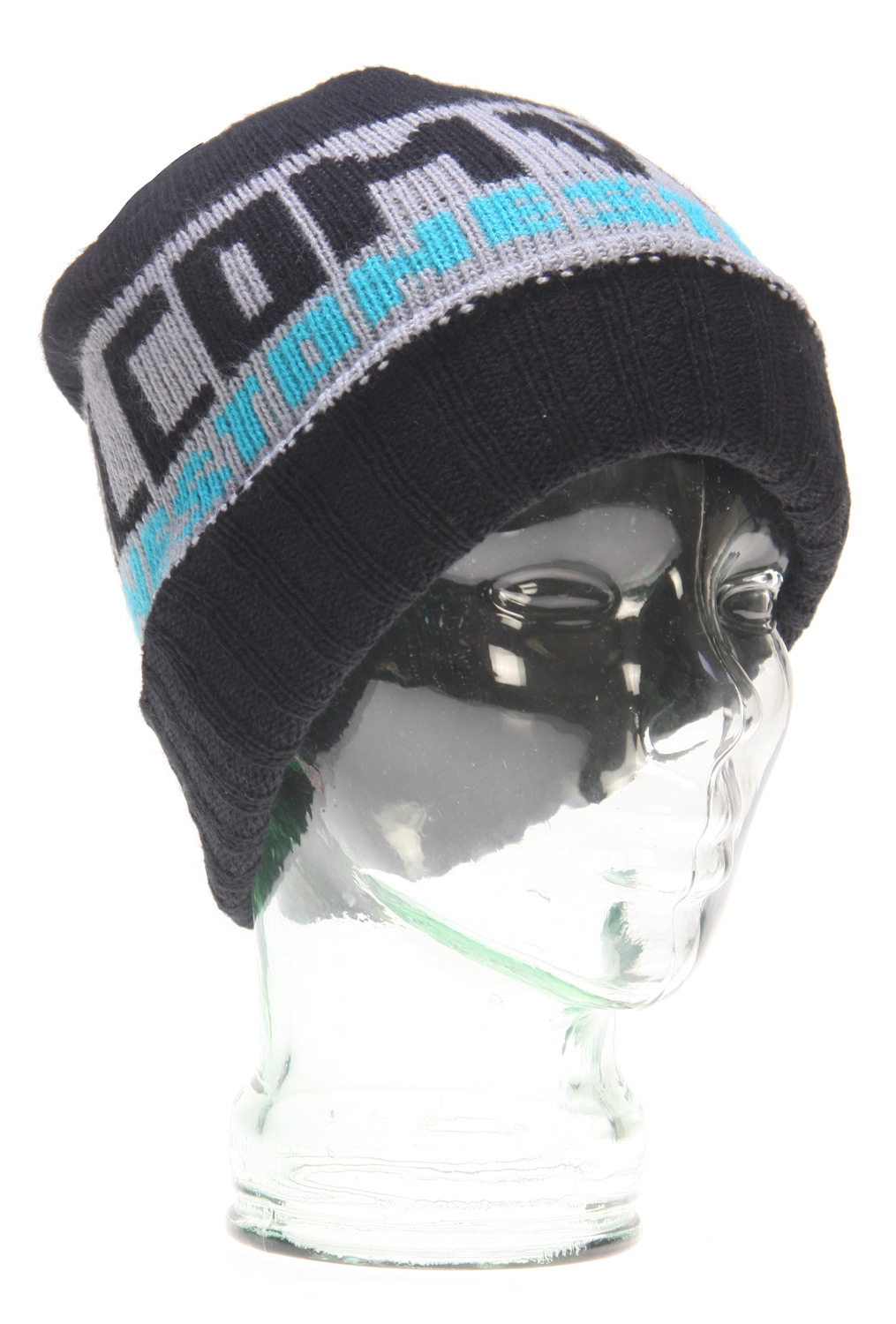 Surf Key Features of the Volcom Rationale Cuff Beanie: Cuff beanie with 2-color 'Volcom Stone' jacquard and brushed yarns that deliver a vintage hand feel/appearance 100% Acrylic - $20.95