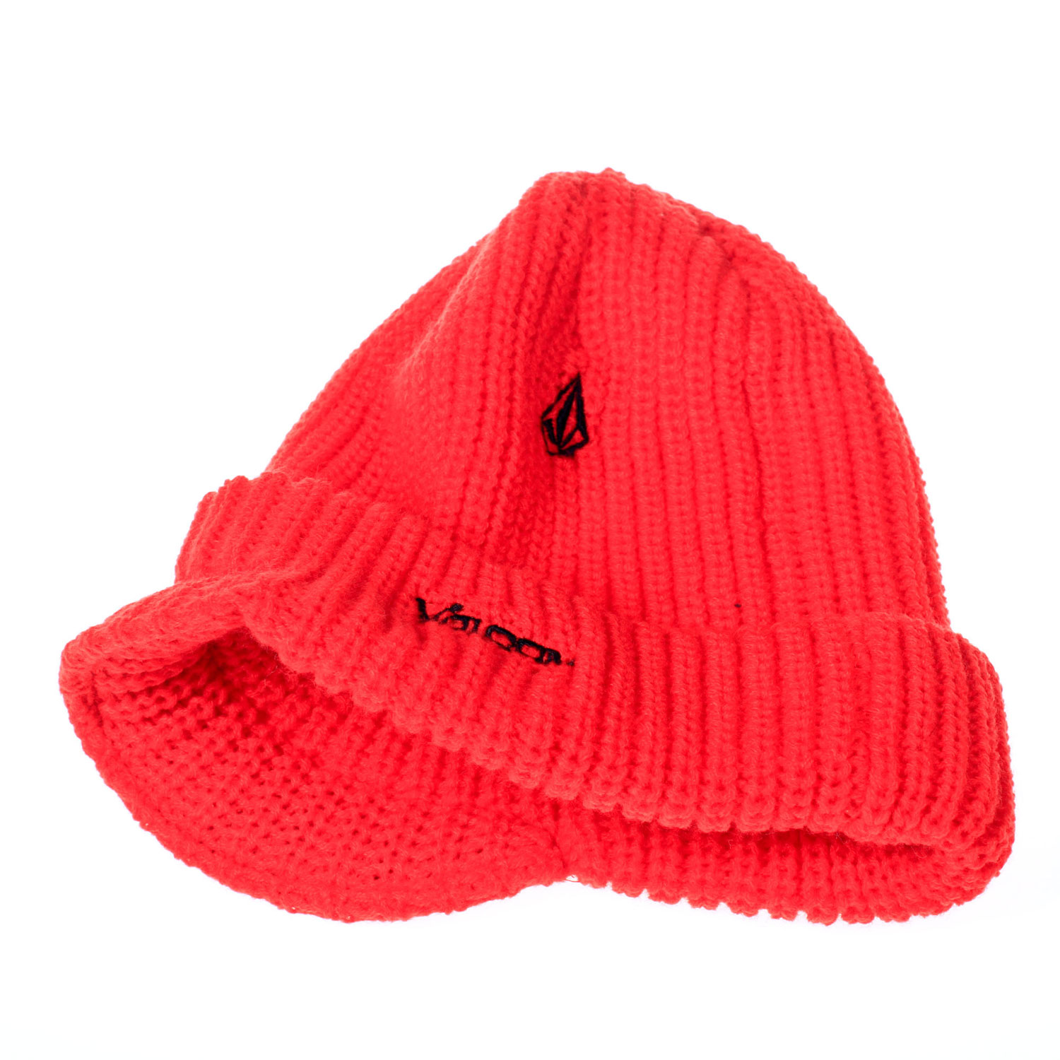 "Surf span style=""font-size: 13px; font-family: arial, sans, sans-serif"" This Volcom Victorville Beanie will keep you looking and feeling your best. Whether you planning on wearing it to hit the slopes and shred some powder, this brightly colored classic fit acrylic beanie with a brim fit is the perfect one to keep you warm and stylish all winter long. /span Key Features of the Volcom Victorville Beanie: One Size Fits Most Machine Knit Acrylic  Roll Over Stone Embroidery  Volcom Embroidery  Brim Fit - $15.95"