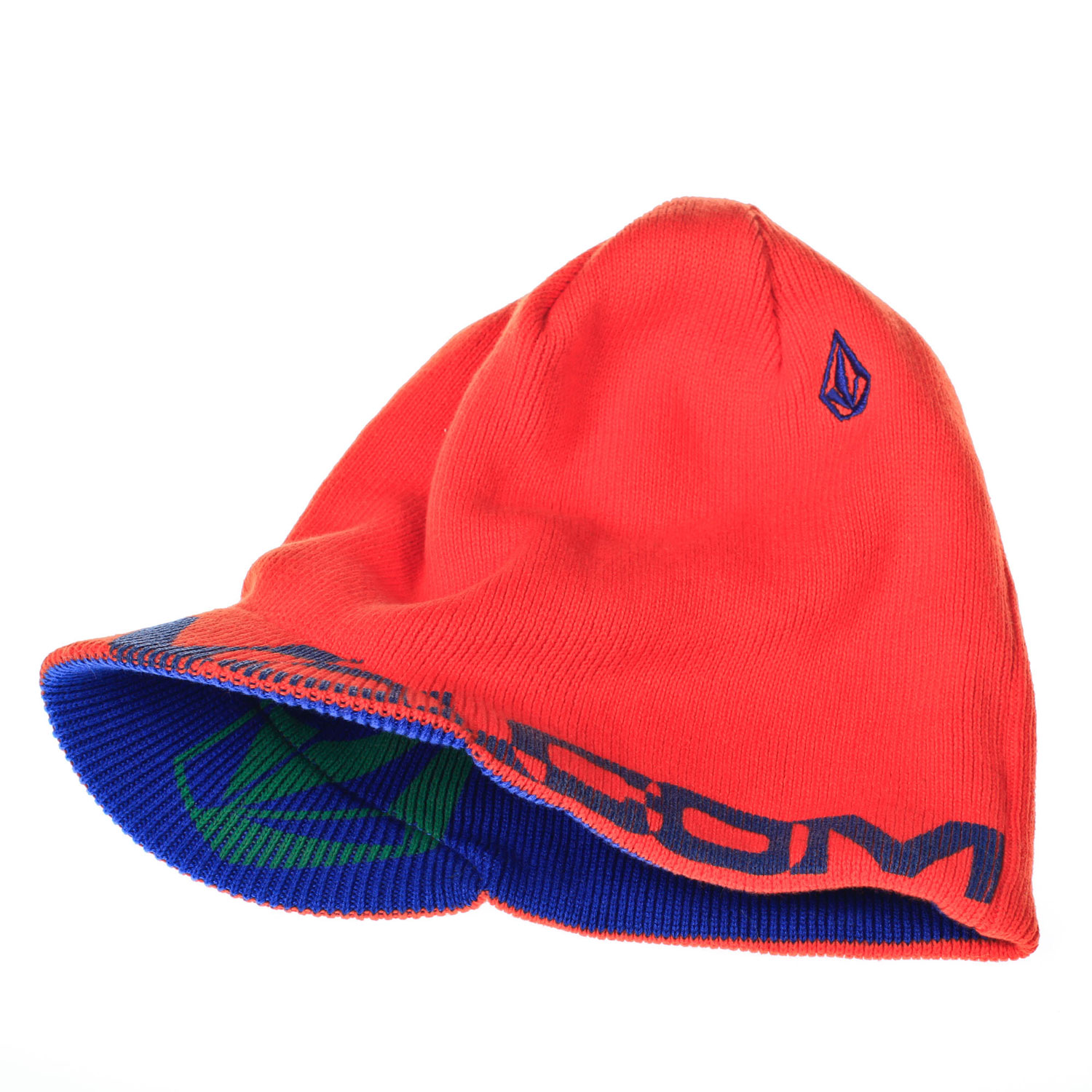 Surf Key Features of the Volcom Westgate Beanie: Machine Knit Acrylic Reversible Brim Discharge Screen Stone Embroidery Brim Fit - $20.95