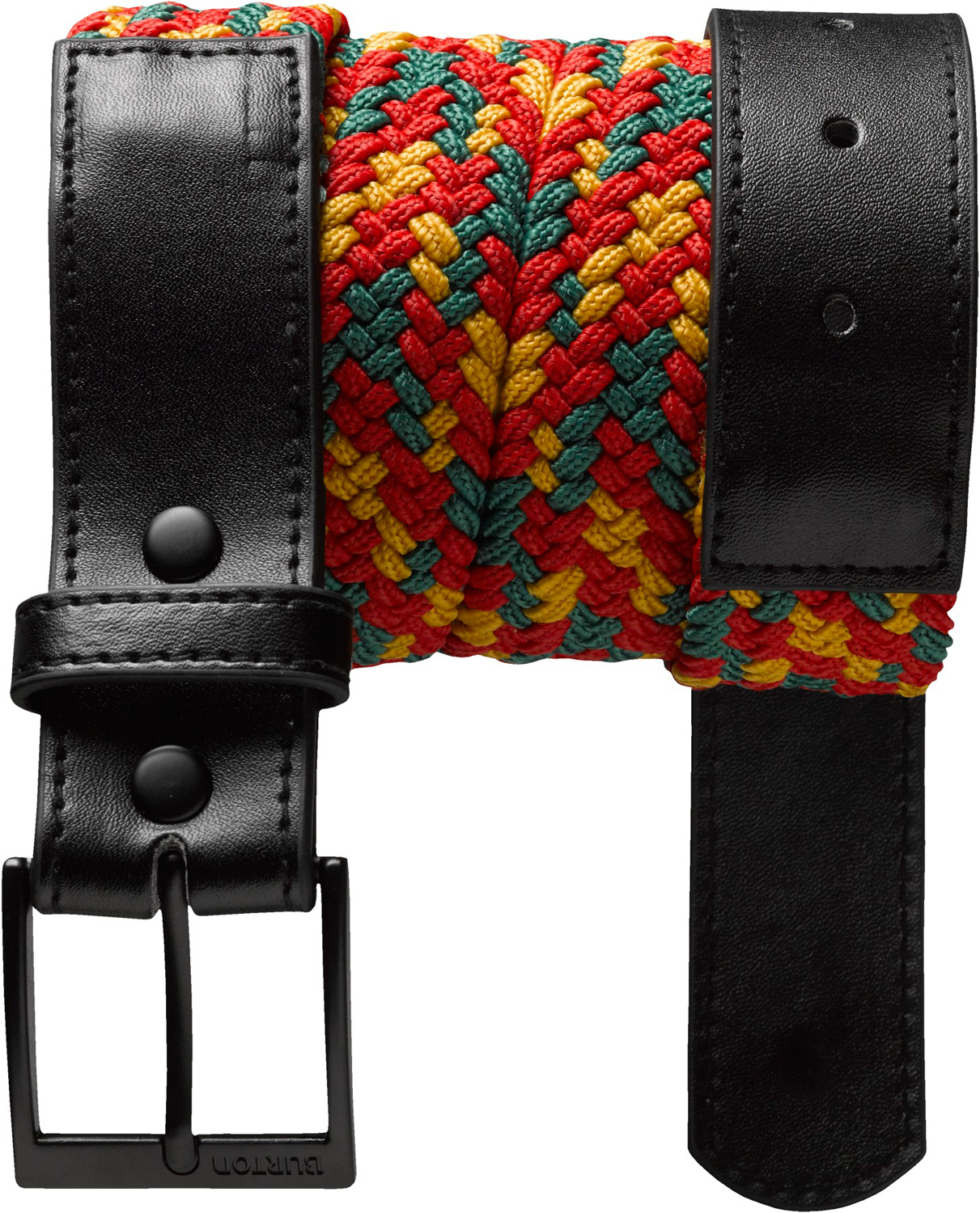 Snowboard Key Features of the Burton Holifax Woven Belt:  Multicolor Woven Belt  Debossed and Ink Filled Logo on Belt  Zinc Alloy Buckle with Embossed Word Mark Logo - $26.95
