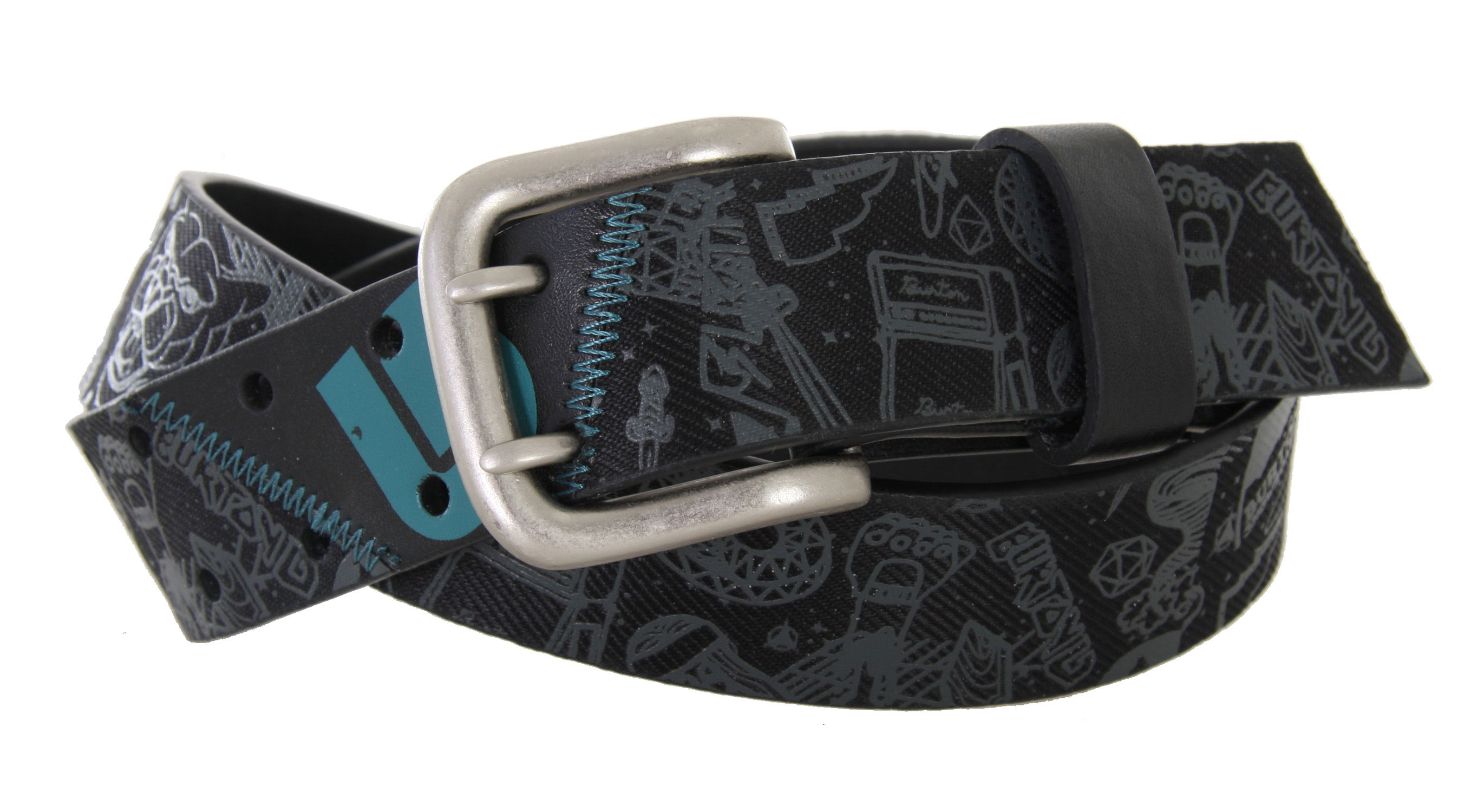 Snowboard You have to hold up your pants somehow, right? Do it with a classic belt from Burton, a company that knows how to make functional but stylish clothing and accessories. They're made for people like you: hip, unique, and always on the go. This belt is ready to put up with whatever you put it through. We know that you're going to want to wear it all the time, so we made it from super durable material that will hold up no matter what. - $26.57