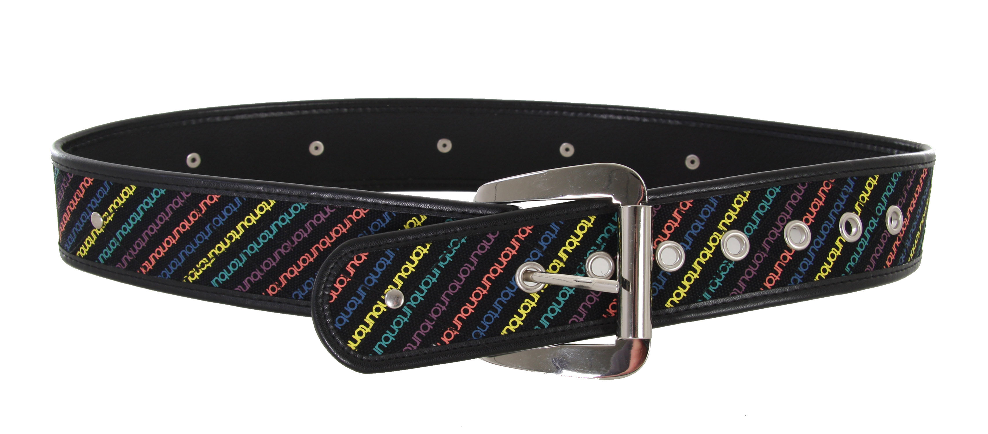 Snowboard The Burton Icon Belt is a PU Leather Belt with Embossed Youth Outerwear Print. - $17.95