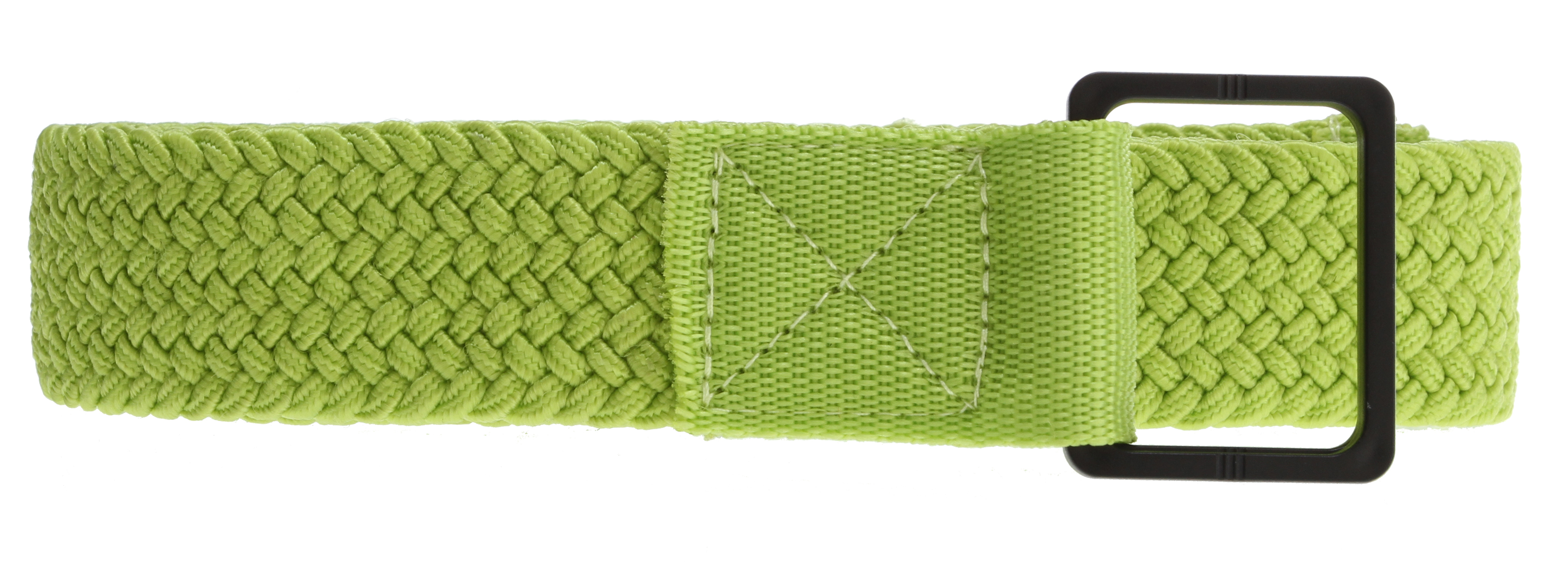 Woven elastic belt, airport security ready. Dcshoecousa woven label. 100% polyester* Cinch buckle * 100% Polyester - $10.95
