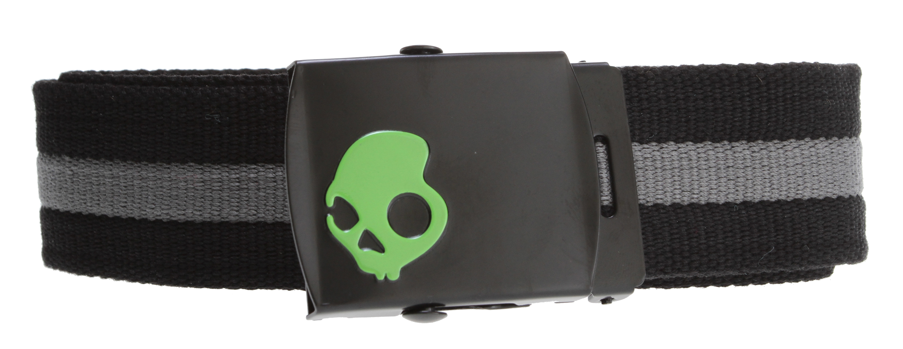 Key Features of the Skullcandy Habitat Web Belt: Engineered polyester web belt Custom removable buckle - $14.99