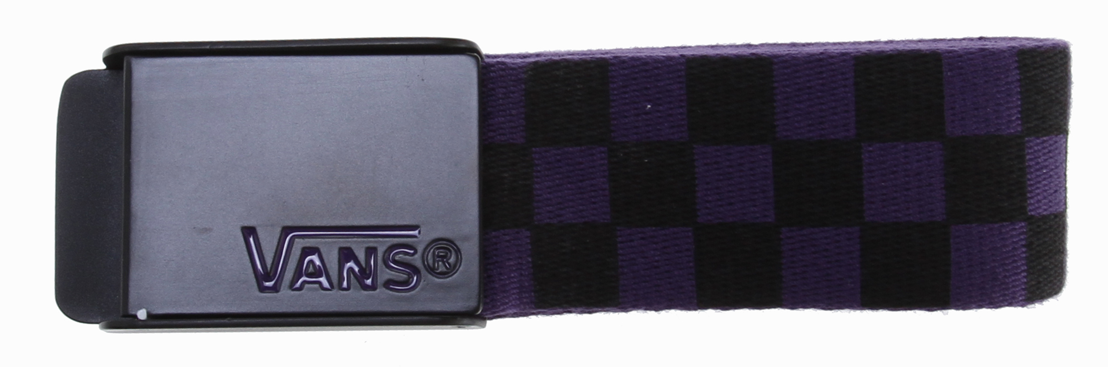 Skateboard Key Features of the Vans Deppster Web Belt: 100% Polyester web belt with all-over checkerboard print Custom Vans buckle and tipping. - $15.00