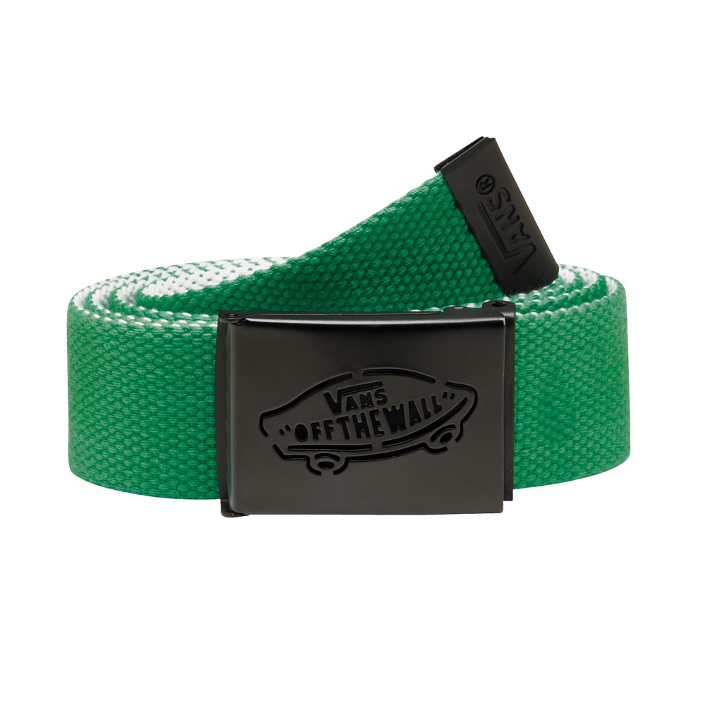 Skateboard Key Features of the Vans Reverse Web Belt: 100% Polyester reversible web belt Custom-molded OTW buckle and Vans logo tipping - $14.95