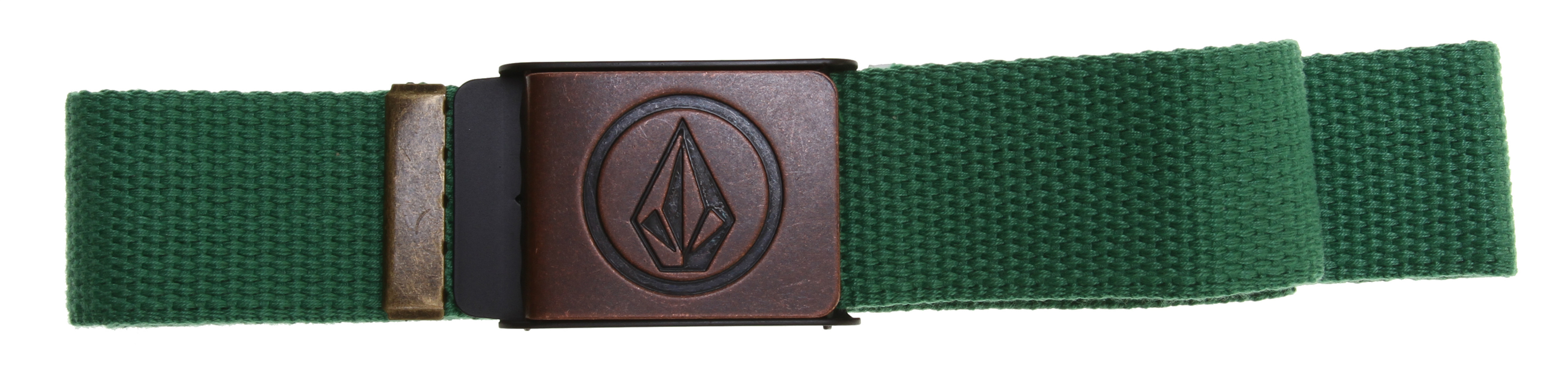 "Surf Key Features of the Volcom Circle Stone Webbing Belt: 1 1/2"" x 44"" Deboss/enamel buckle and tipping 100% Zinc Alloy (Buckle/Tipping); 100% Polyester (Webbing) Core Collection - $13.00"