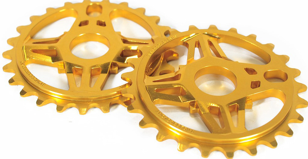 BMX Key Features of the Colony CC Sprocket 25T:  Chris Courtenay Signature Sprocket.  CNC machined from 7075T6 Alloy.  Extensive 3D machining for a detailed look. - $61.95