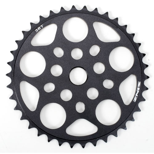 BMX Sinz Pro CNC-machined chainwheels are 5 millimeters thick and designed for extra strength and low weight. They fit 19-millimeter spindles. - $27.95